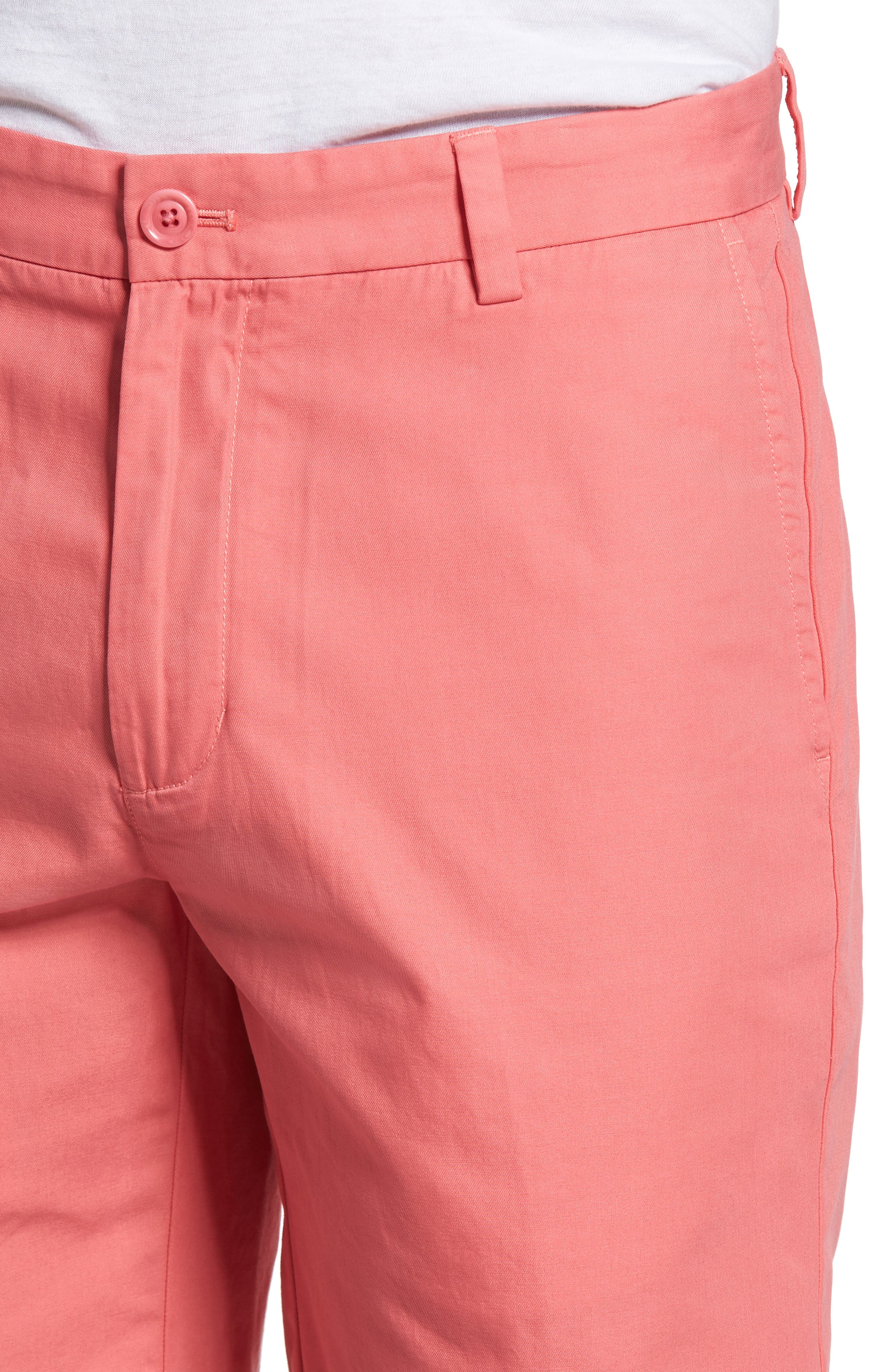 9 Inch Stretch Breaker Shorts,                             Alternate thumbnail 4, color,                             LOBSTER REEF