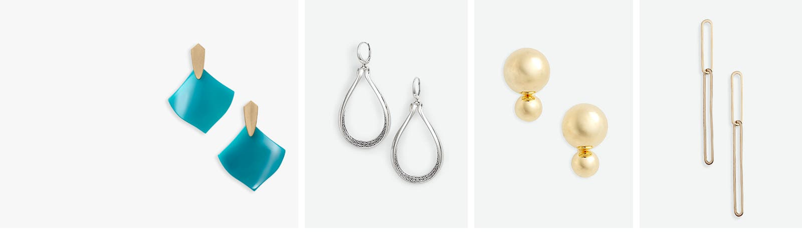 Women's earring trends.