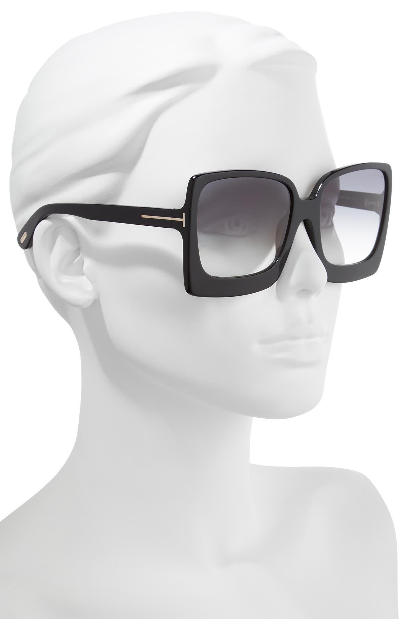 Katrine 60mm Sunglasses,                             Alternate thumbnail 2, color,                             012