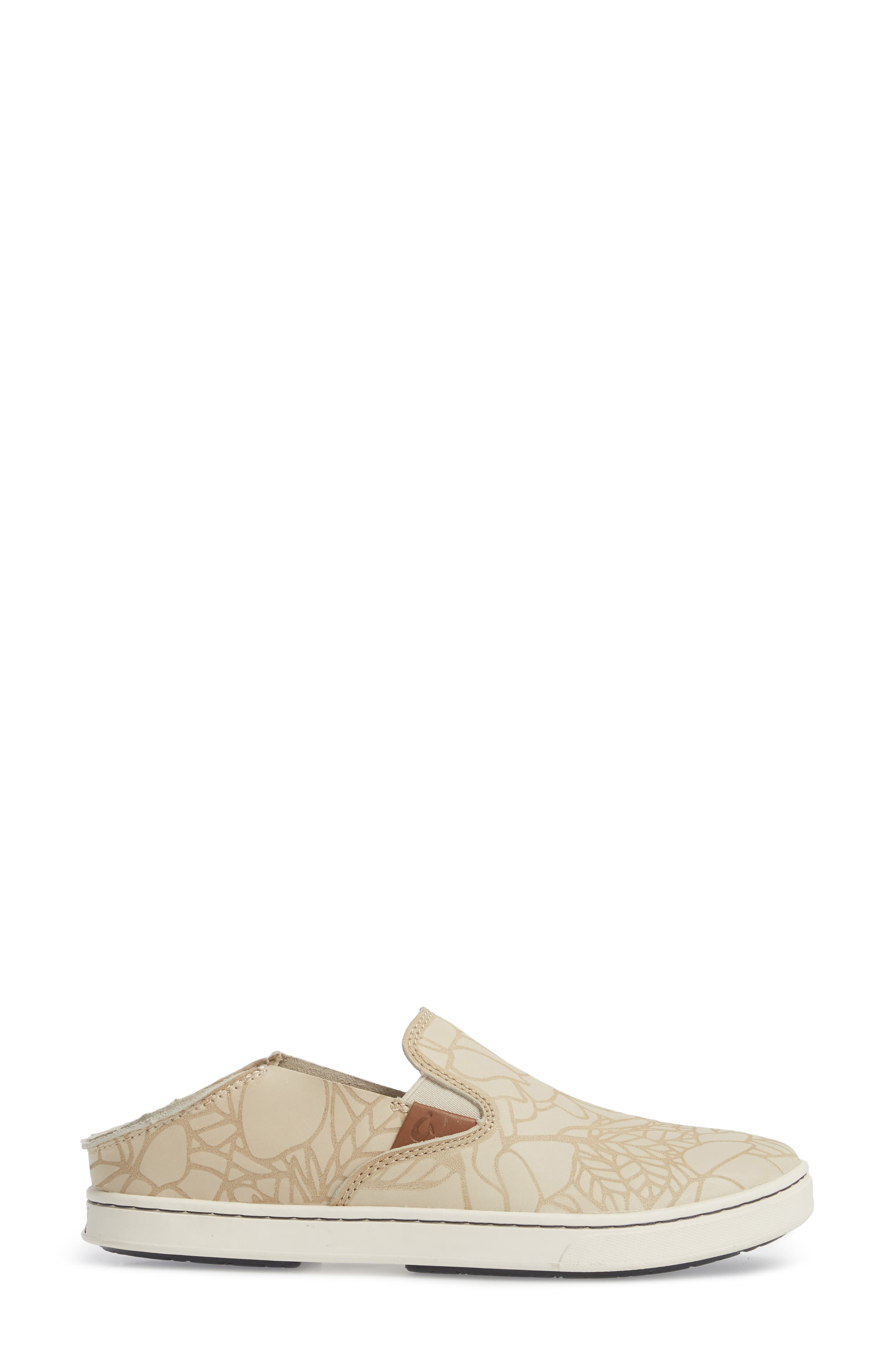 Pehuea Lau Slip-On Sneaker,                             Alternate thumbnail 4, color,                             TAPA/ TAPA FABRIC