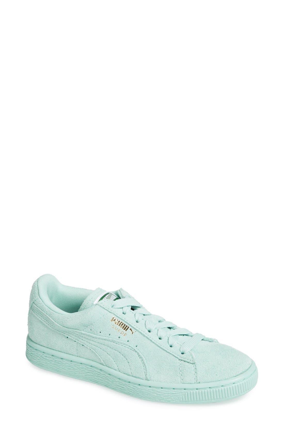 Suede Sneaker,                             Main thumbnail 19, color,