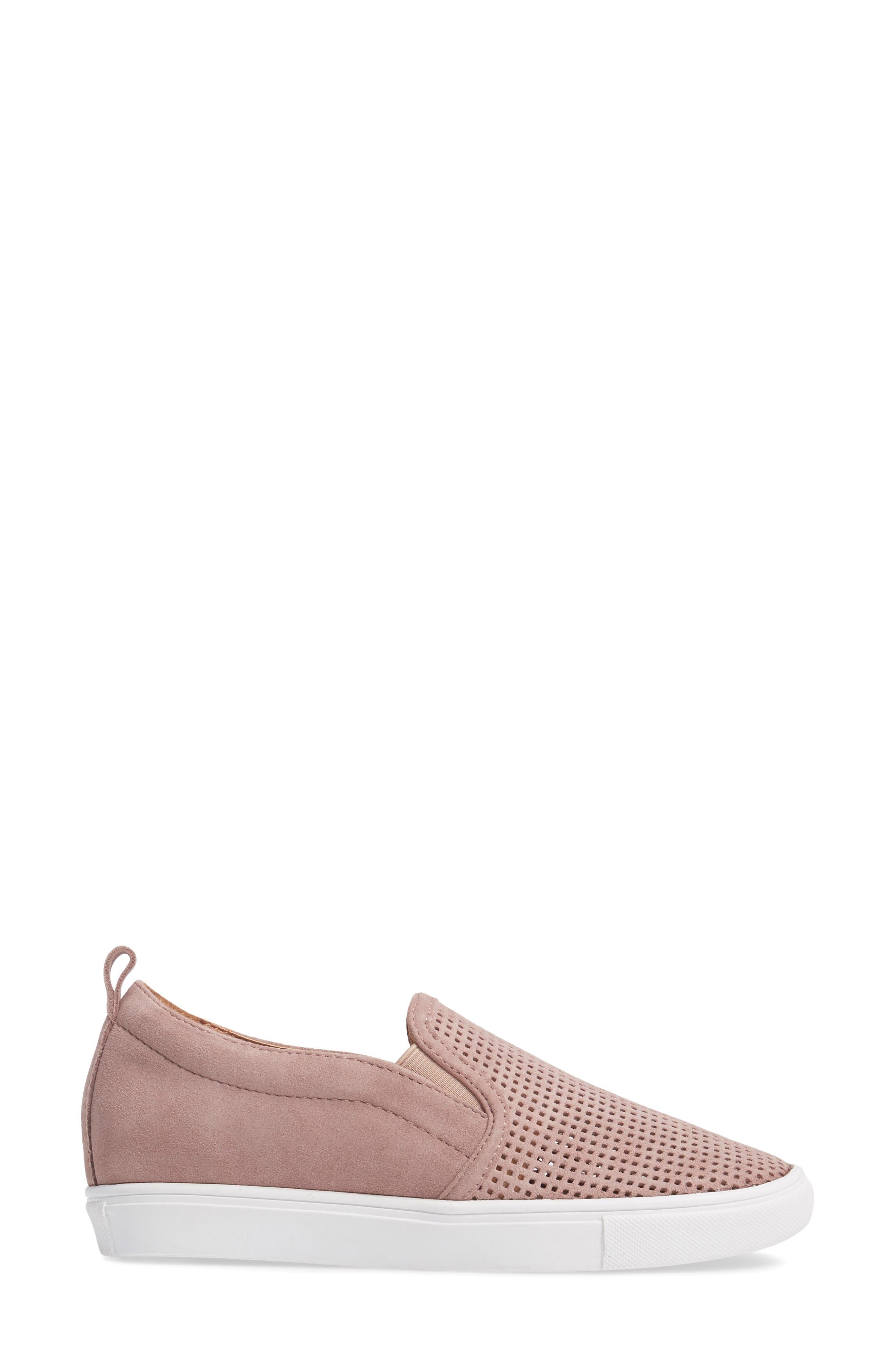 Eden Perforated Slip-On Sneaker,                             Alternate thumbnail 12, color,