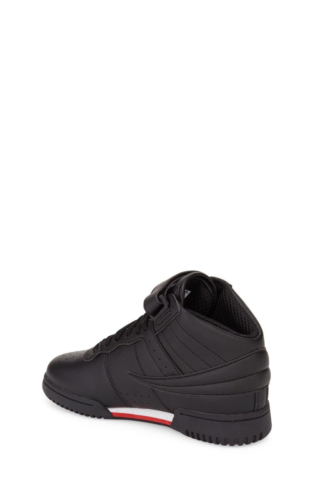 F-13 High Top Sneaker,                             Alternate thumbnail 2, color,                             001