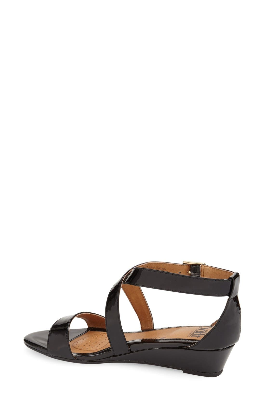 'Innis' Low Wedge Sandal,                             Alternate thumbnail 17, color,