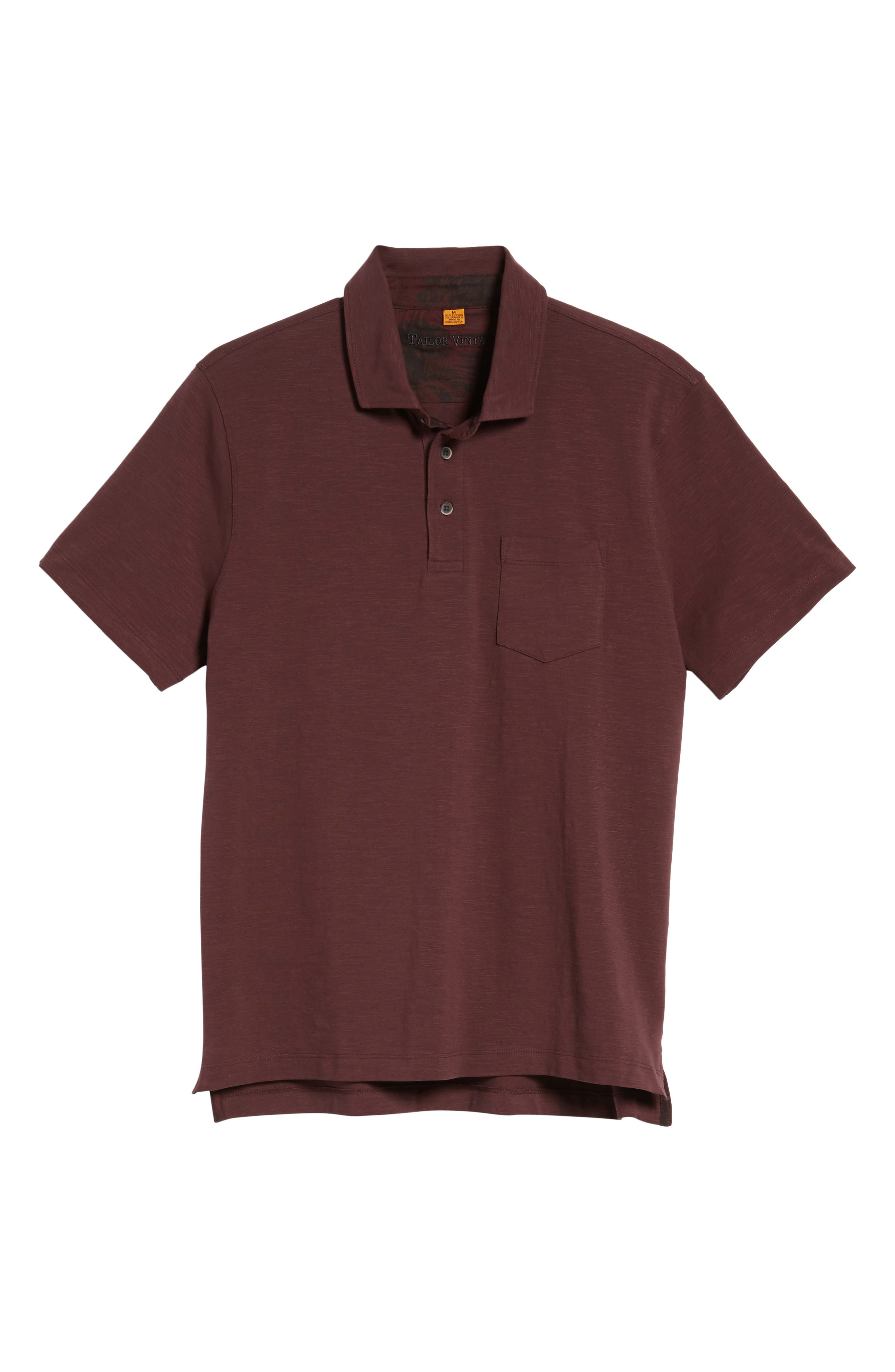 Stretch Slub Jersey Polo,                             Alternate thumbnail 18, color,