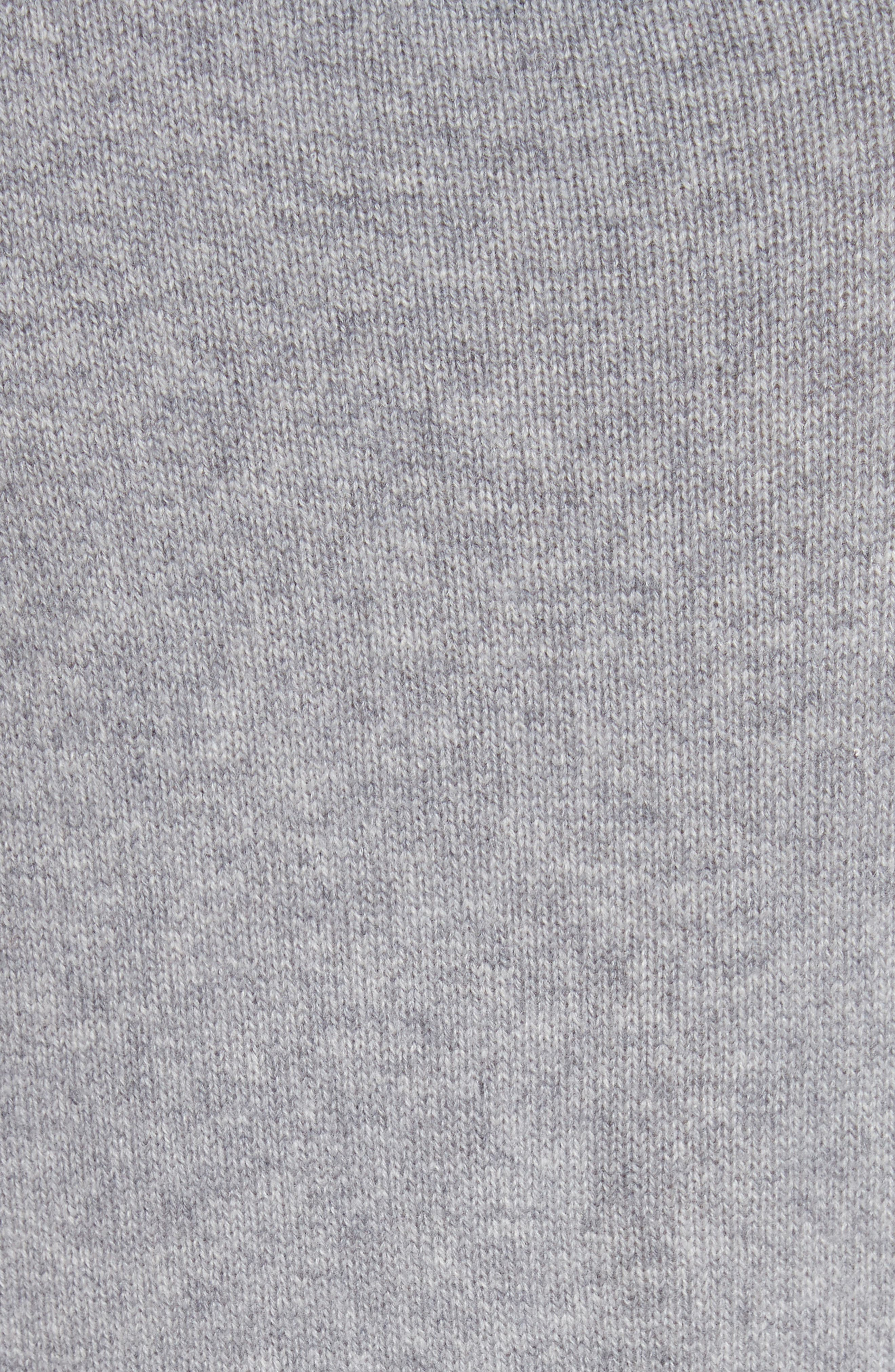 Tie Detail Cashmere Sweater,                             Alternate thumbnail 5, color,