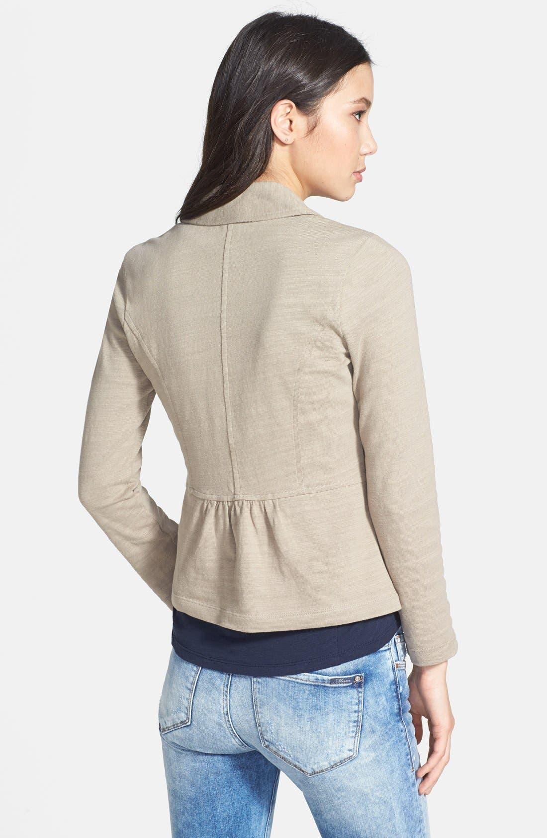 Cotton Knit Jacket,                             Alternate thumbnail 28, color,