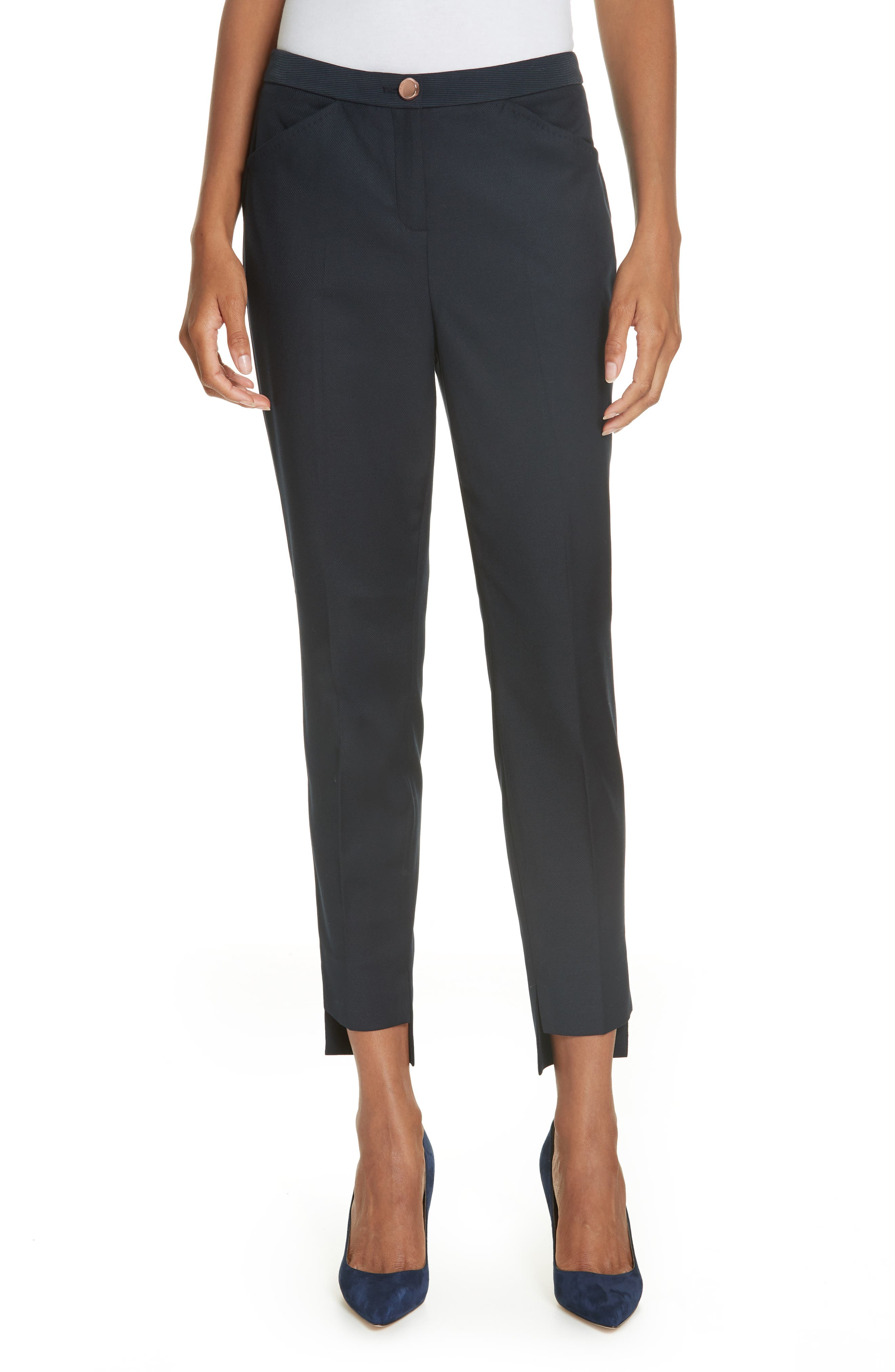 TED BAKER LONDON Ted Working Title Rivaat Skinny Trousers, Main, color, 402