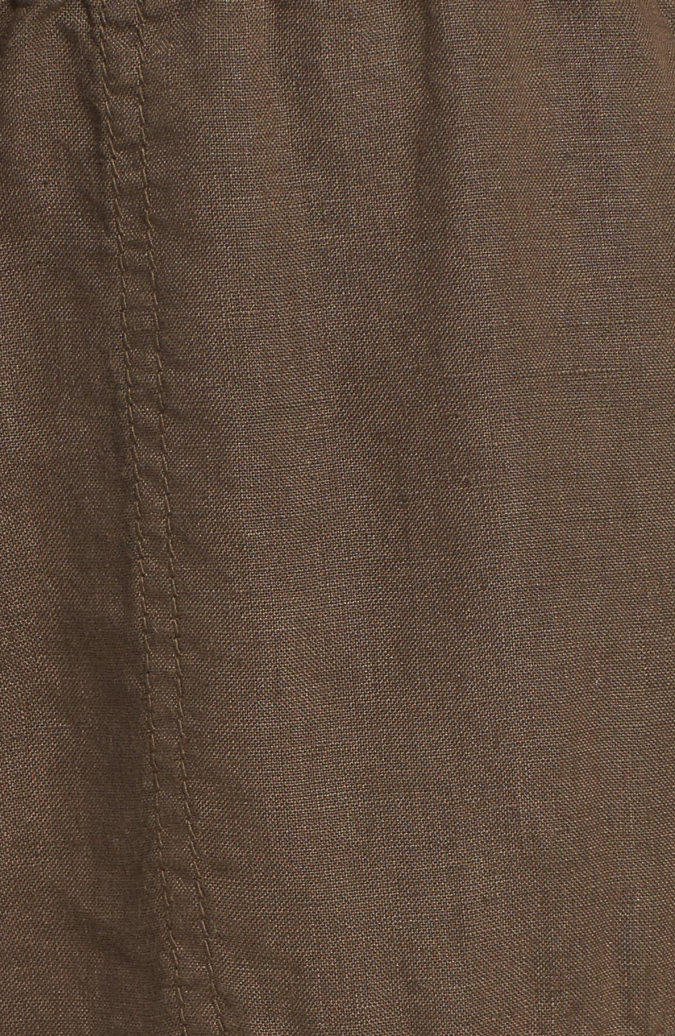 Crop Linen Joggers,                             Alternate thumbnail 29, color,