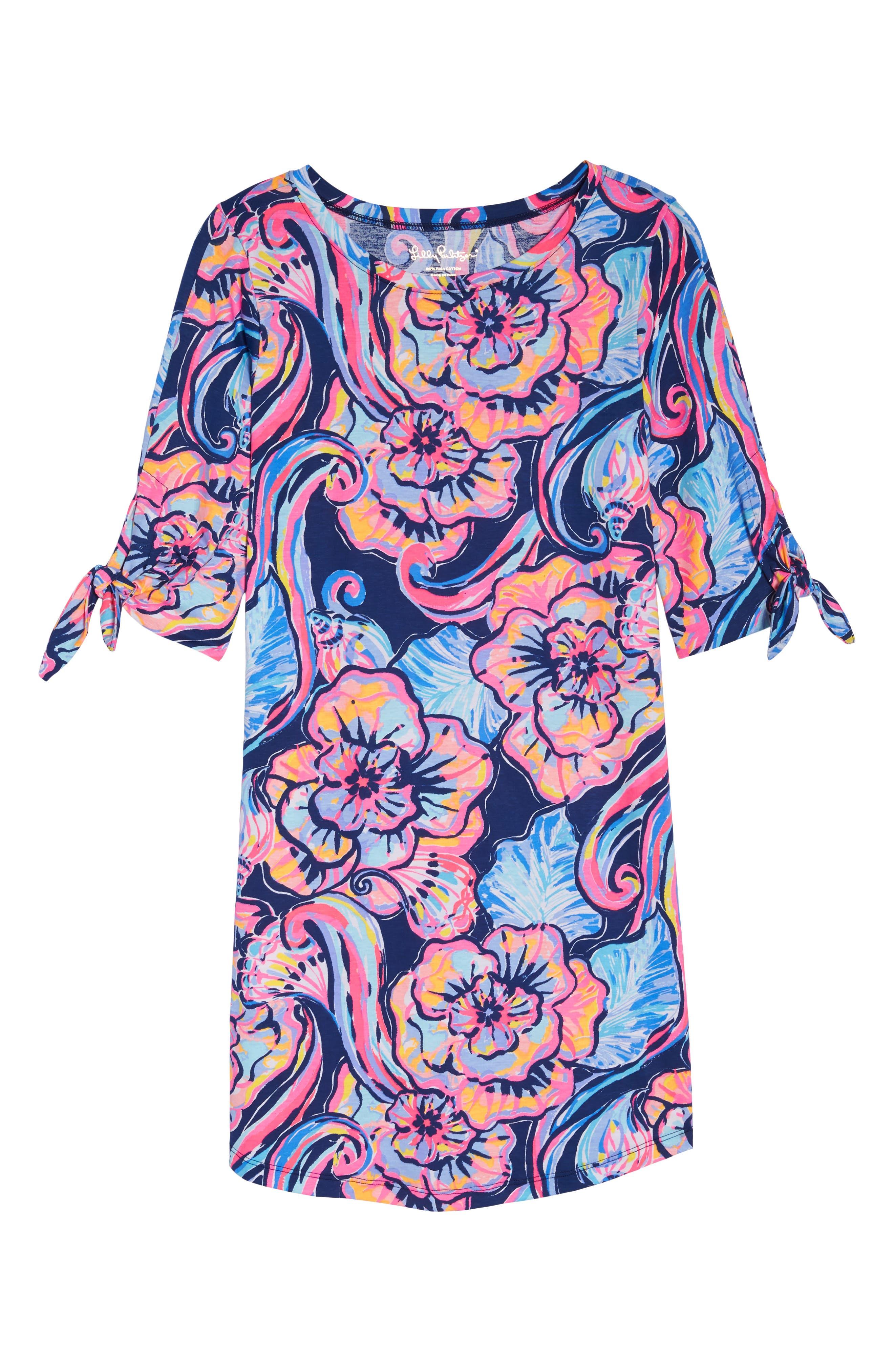 Preston Shift Dress,                             Alternate thumbnail 7, color,                             475