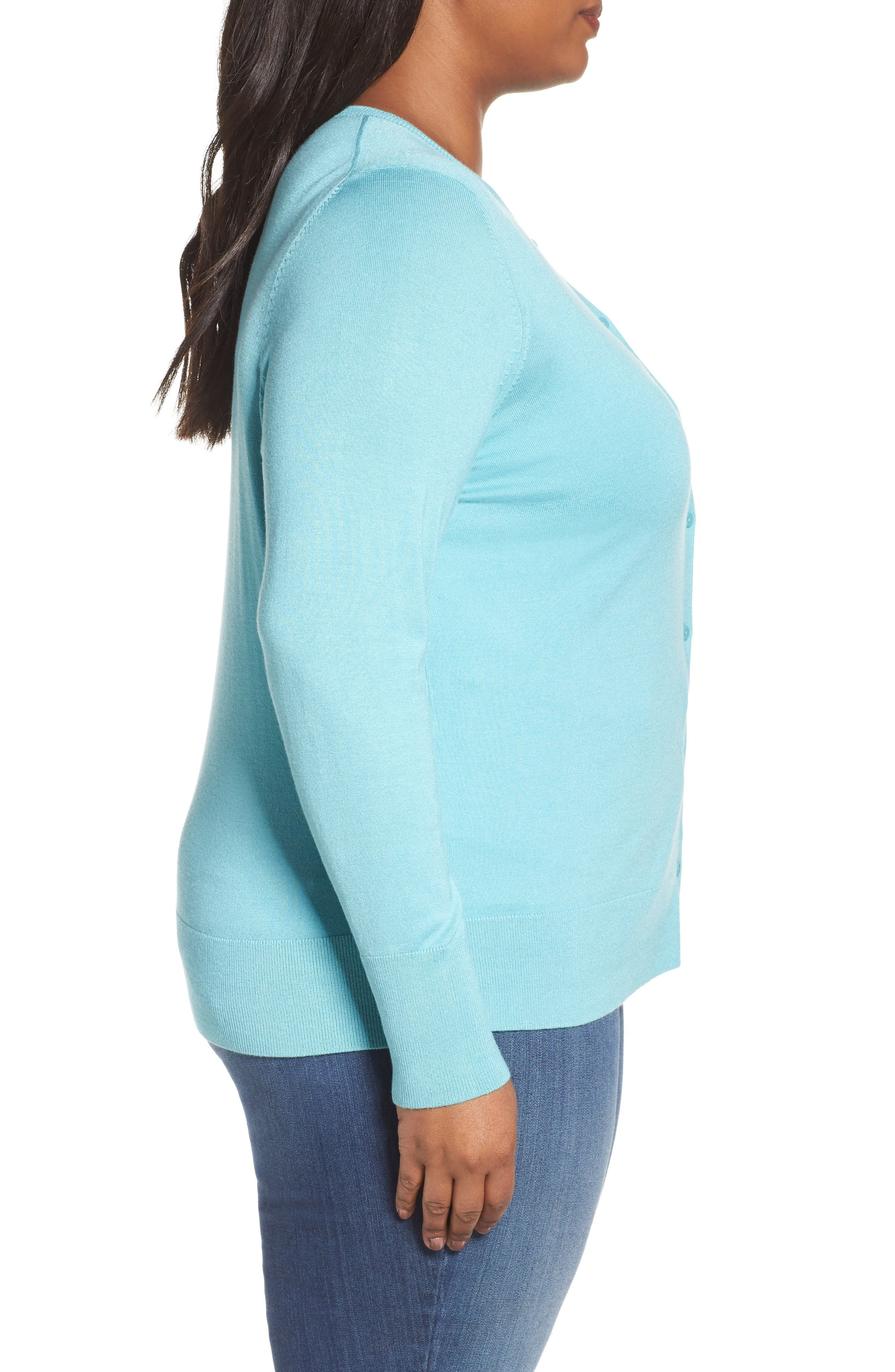 Button Front Cardigan,                             Alternate thumbnail 45, color,