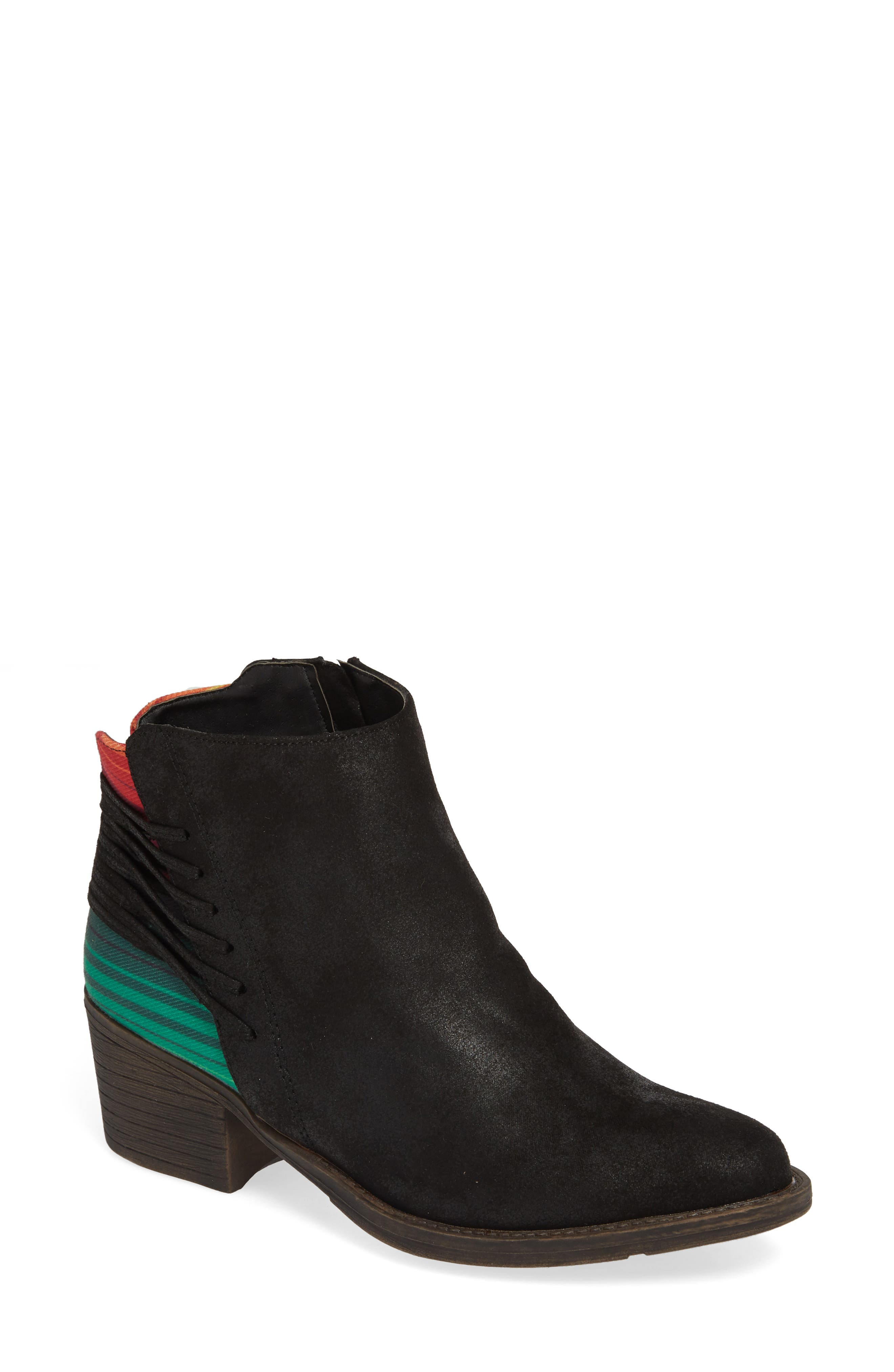 Very Volatile Griselle Strapped Bootie, Black