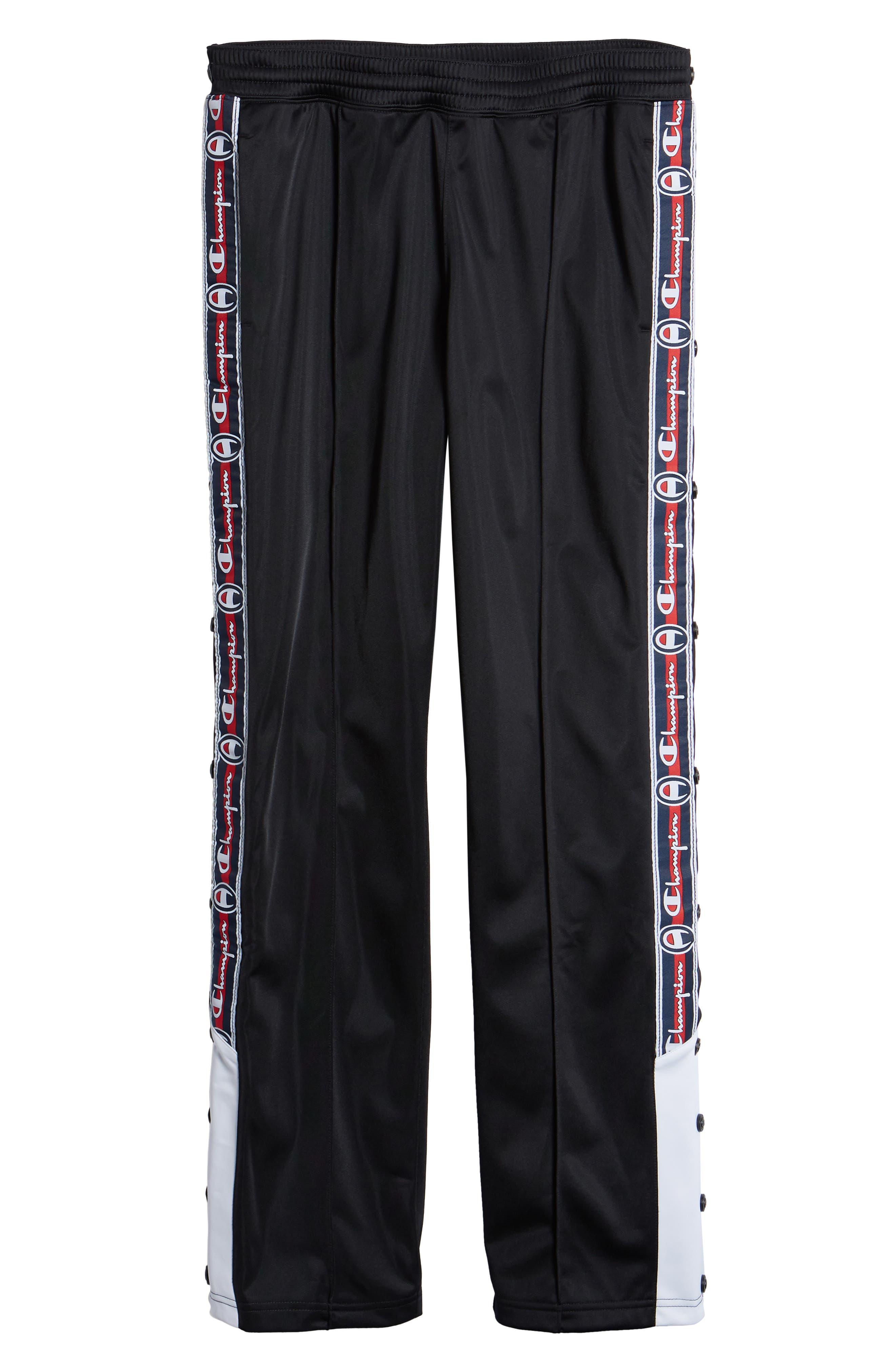 Polywarp Knit Pants,                             Alternate thumbnail 6, color,                             001