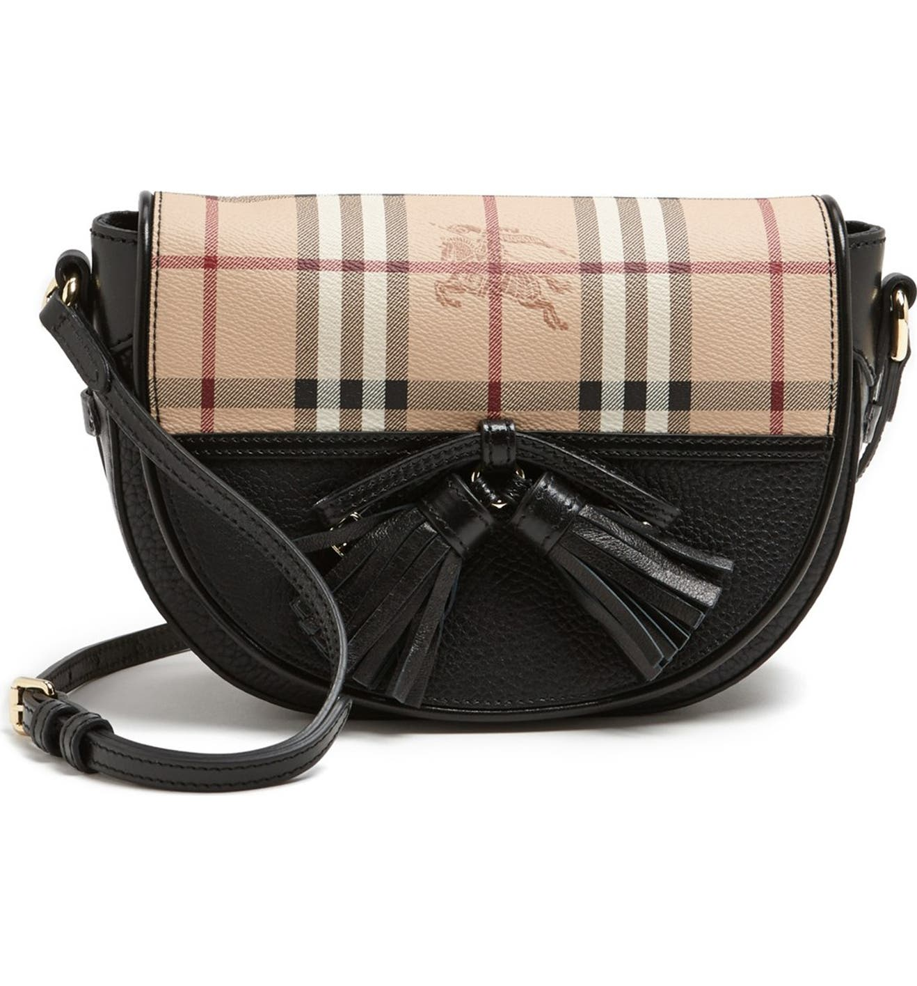 7956eee96d21 Burberry  Small Maydown  Leather Crossbody Bag