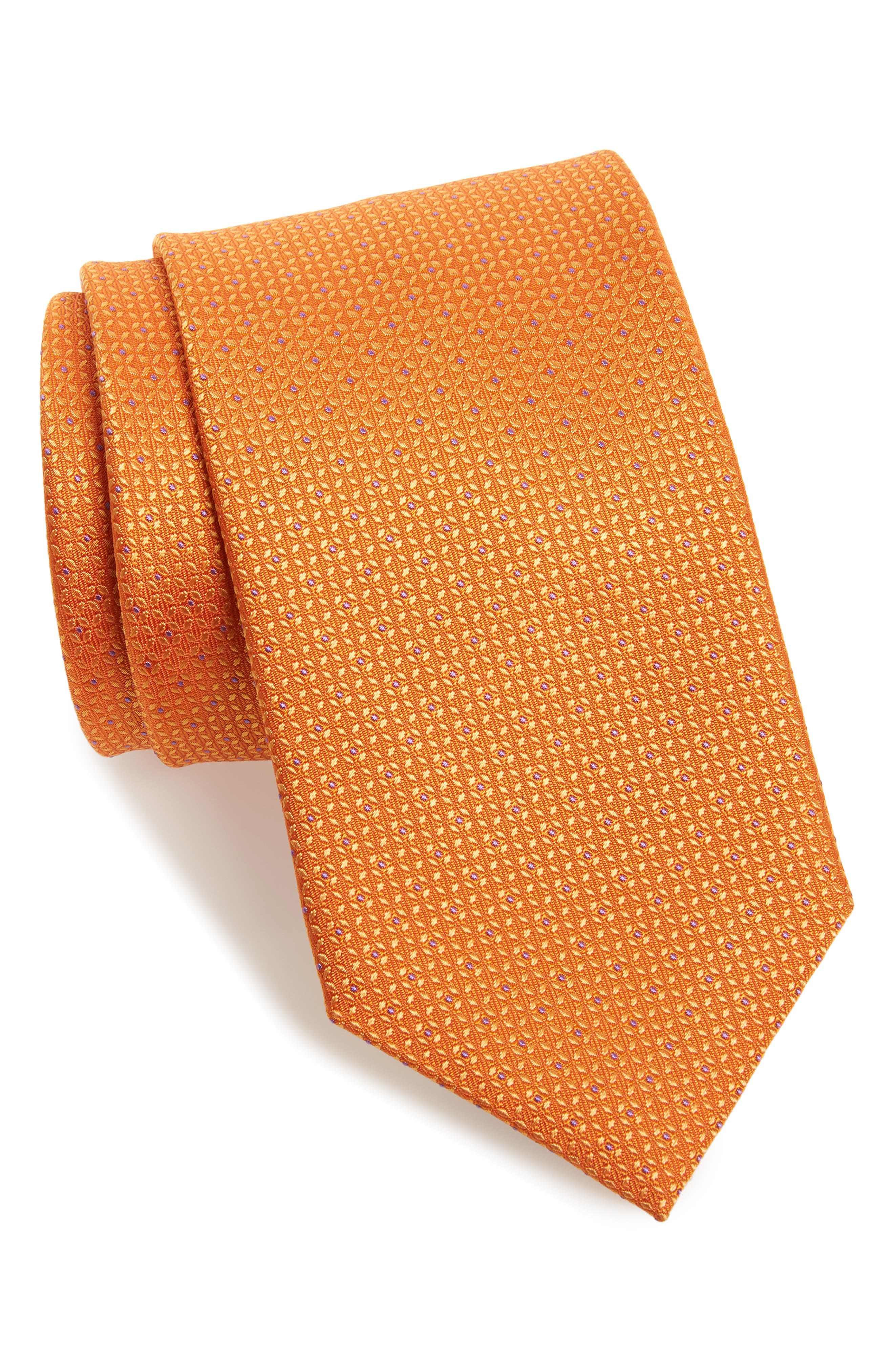 Solid Silk Tie,                             Main thumbnail 3, color,