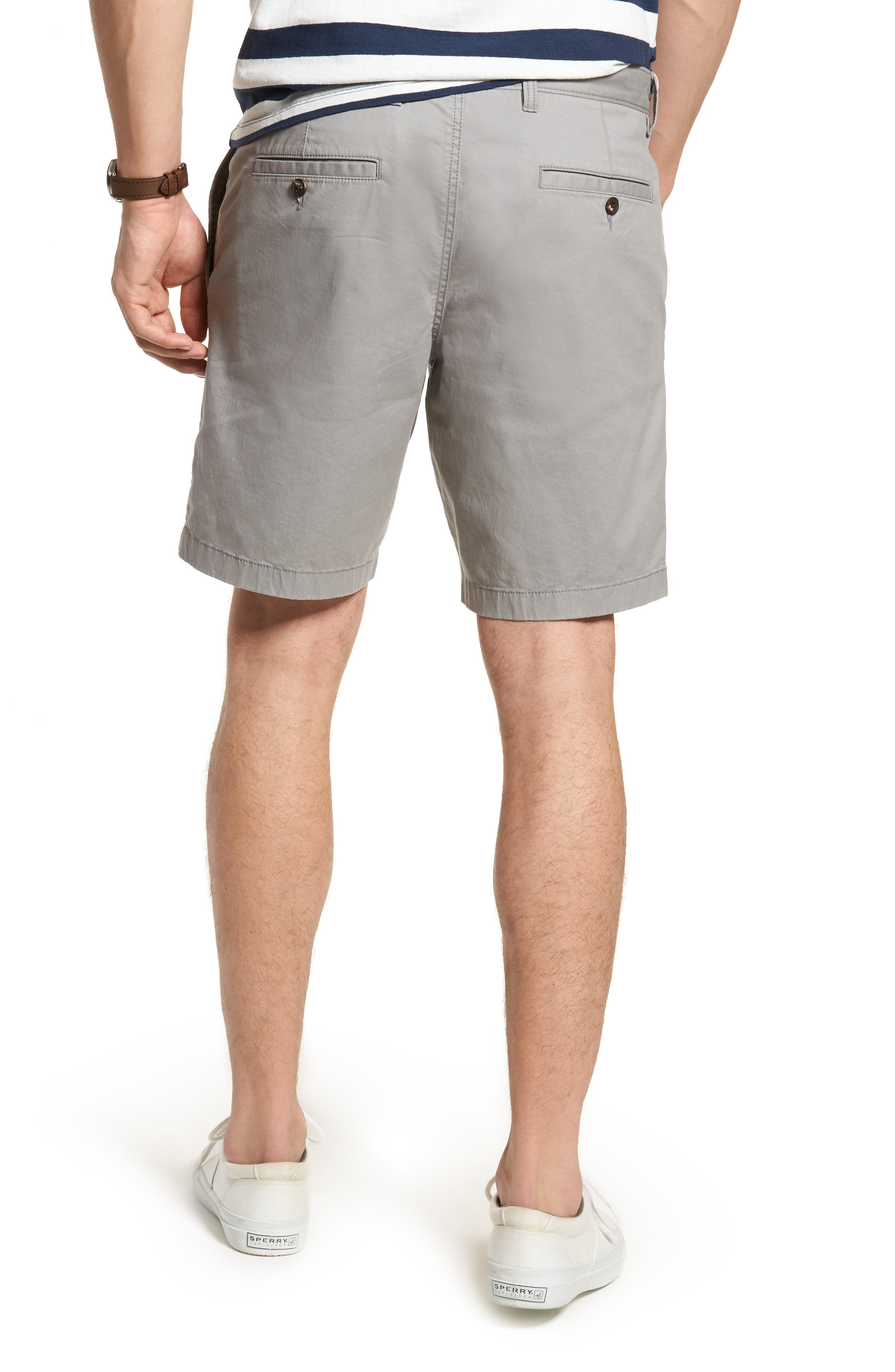 Ballard Slim Fit Stretch Chino 9-Inch Shorts,                             Alternate thumbnail 2, color,                             030