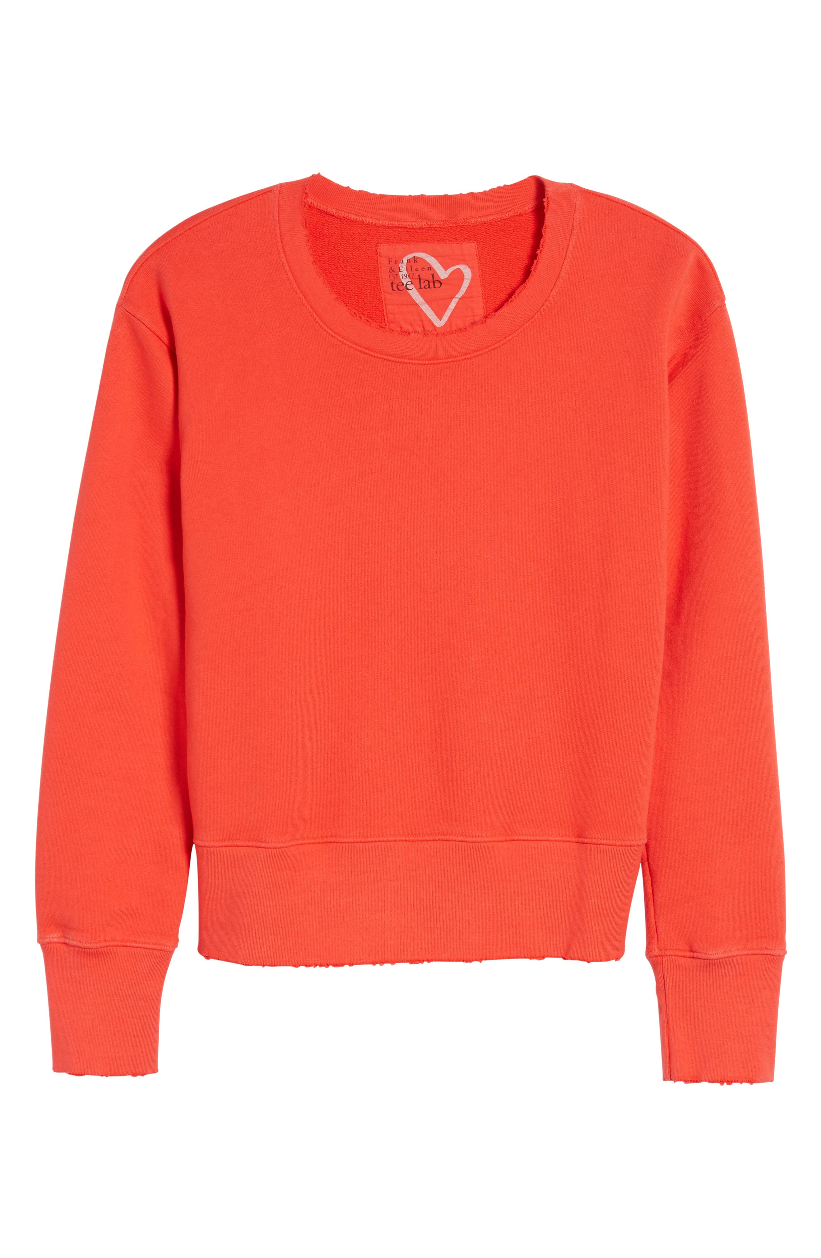 FRANK & EILEEN TEE LAB,                             Distressed Sweatshirt,                             Alternate thumbnail 6, color,                             624
