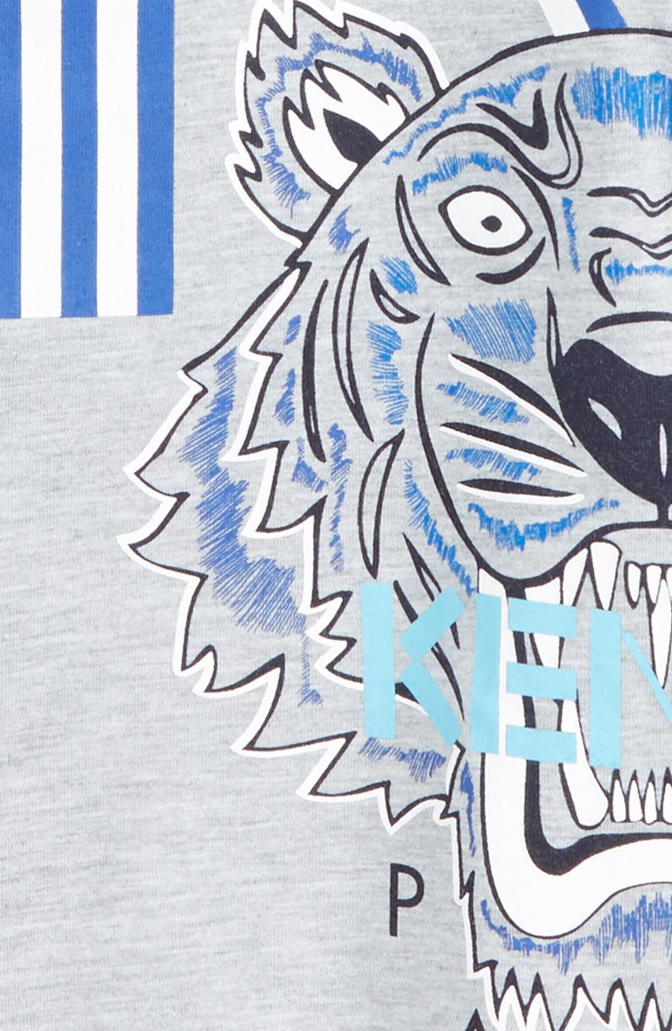 Tiger Graphic T-Shirt,                             Alternate thumbnail 3, color,                             073