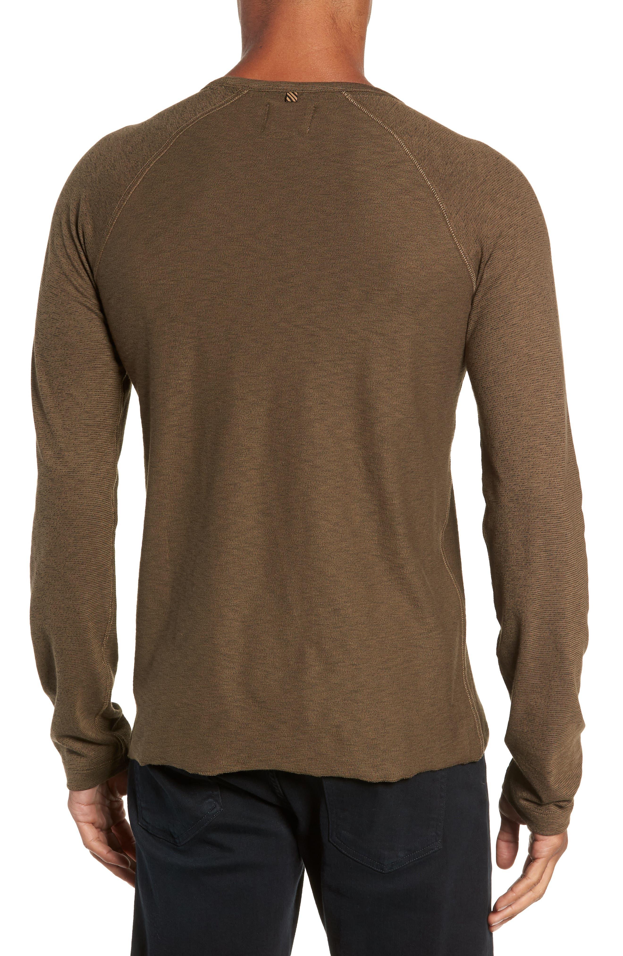 Regular Fit Long Sleeve T-Shirt,                             Alternate thumbnail 2, color,                             OLIVE