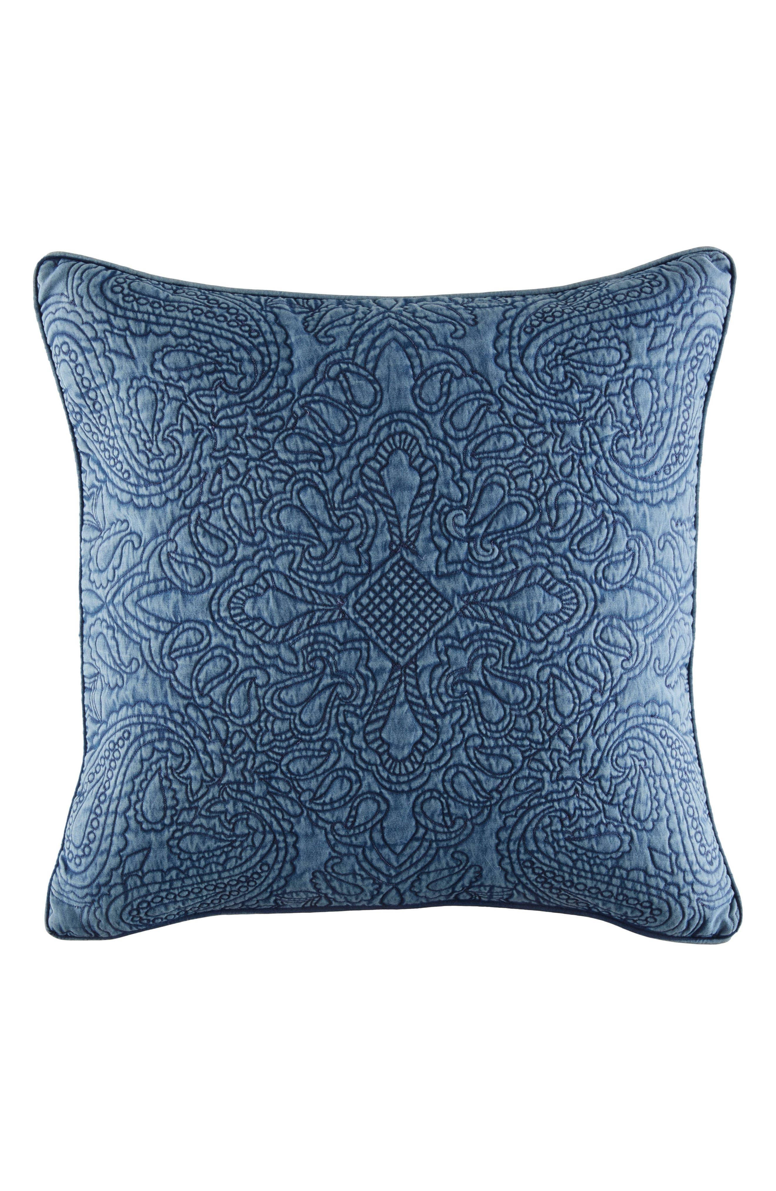 Vintage Bandana Accent Pillow,                         Main,                         color,