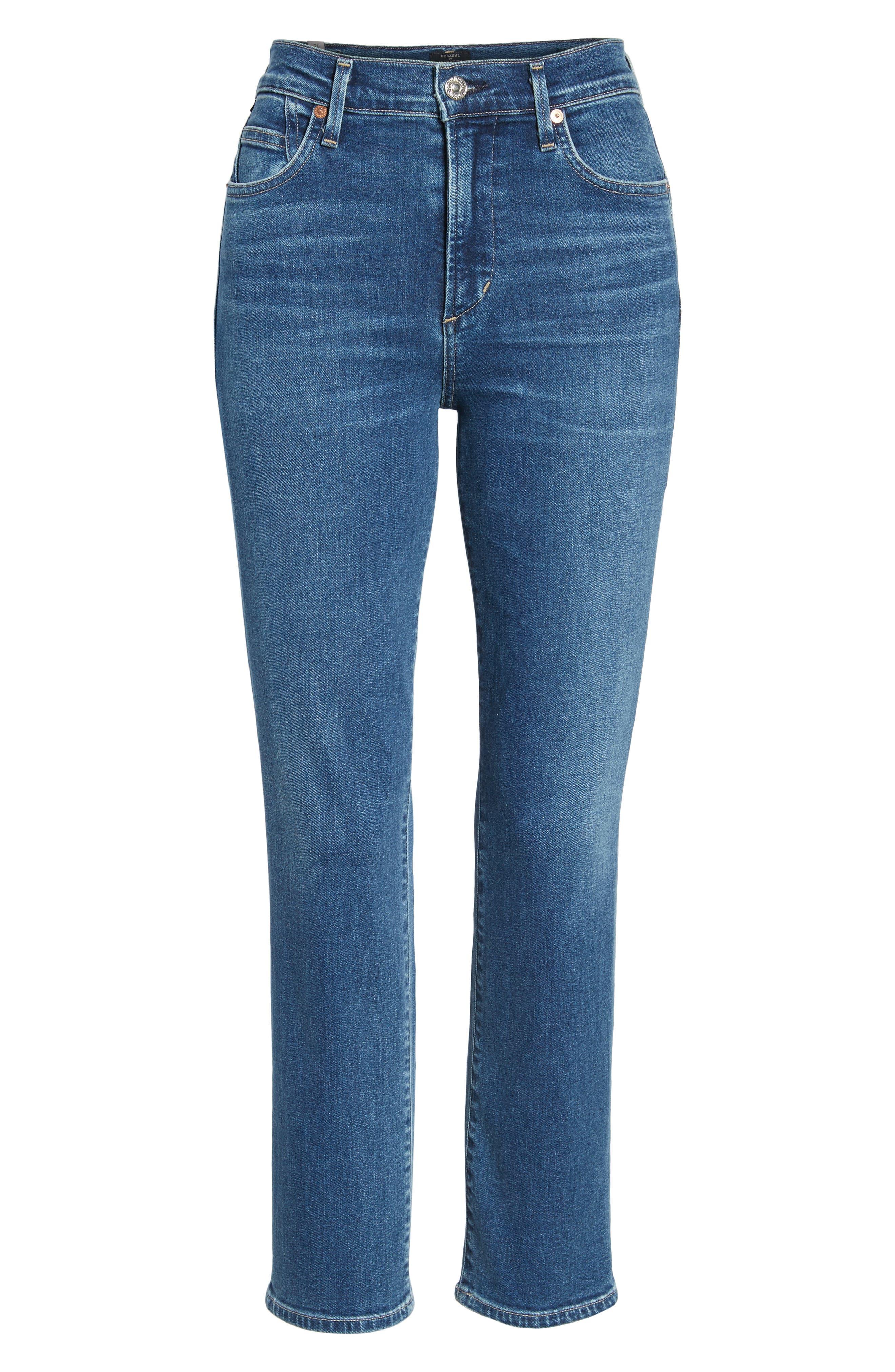 Cara Ankle Cigarette Jeans,                             Alternate thumbnail 7, color,