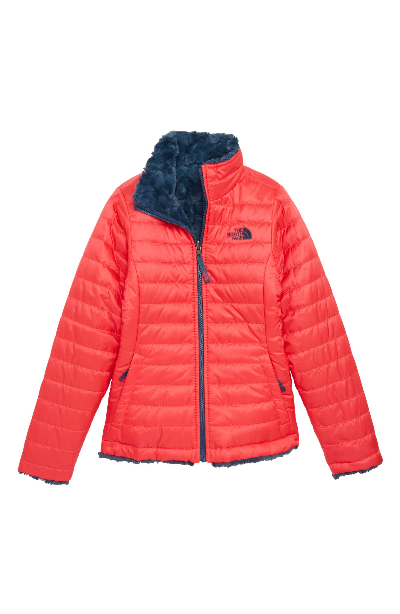 a3a51914dc The North Face Mossbud Swirl Reversible Water Repellent Jacket (Big Girls)