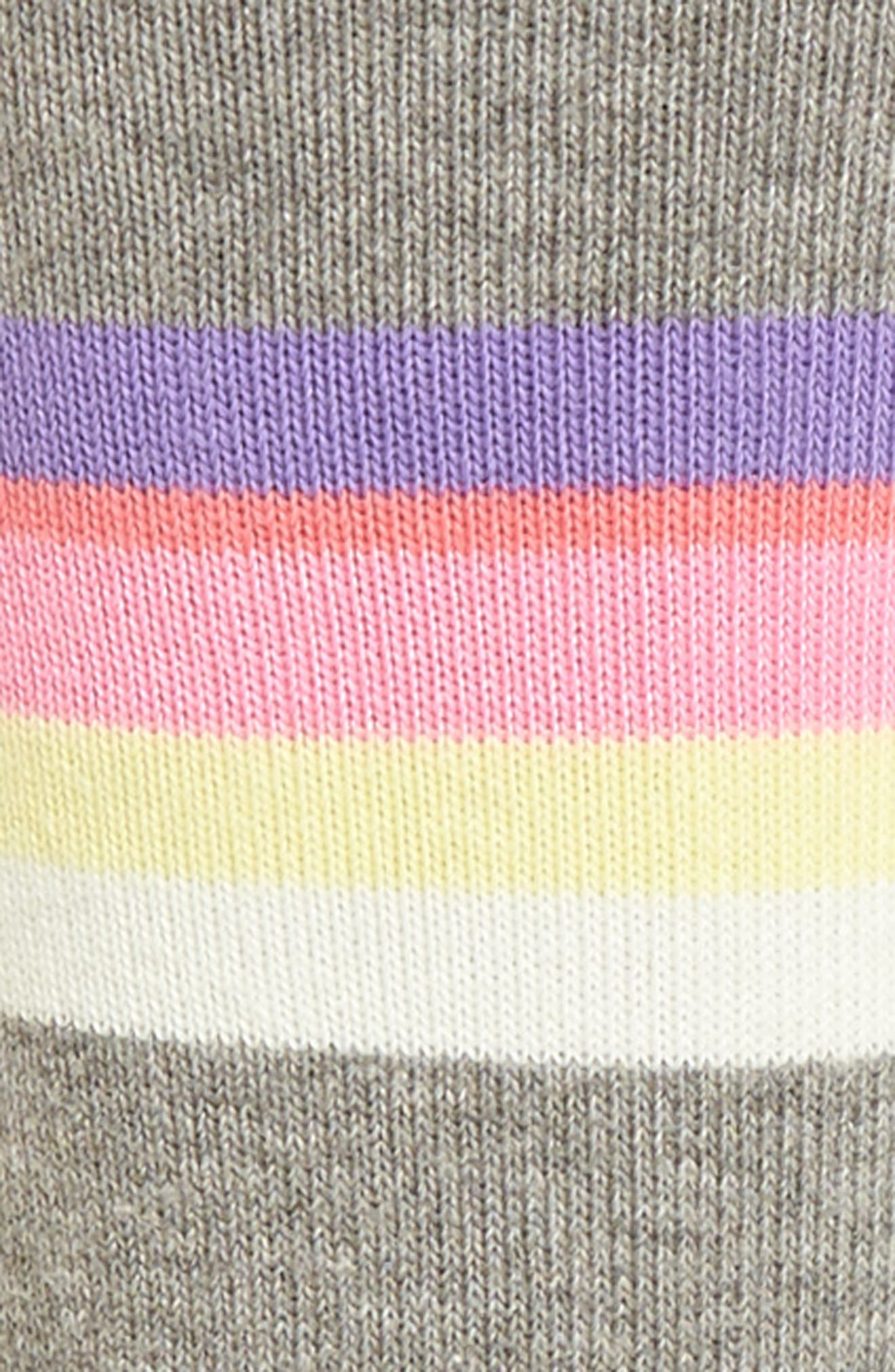 Mega Babe Tomboy Crew Socks,                             Alternate thumbnail 3, color,                             020