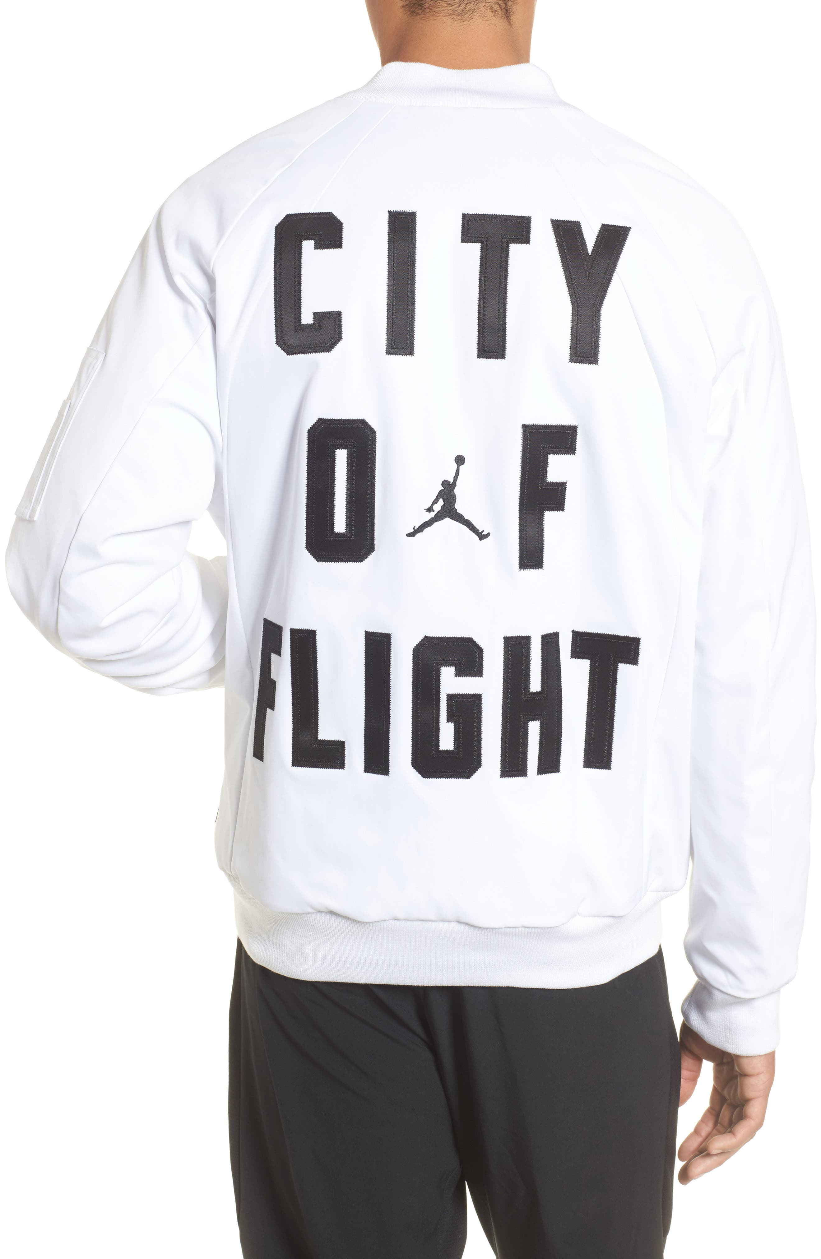 Sportswear City of Flight MA-1 Bomber Jacket,                             Alternate thumbnail 4, color,