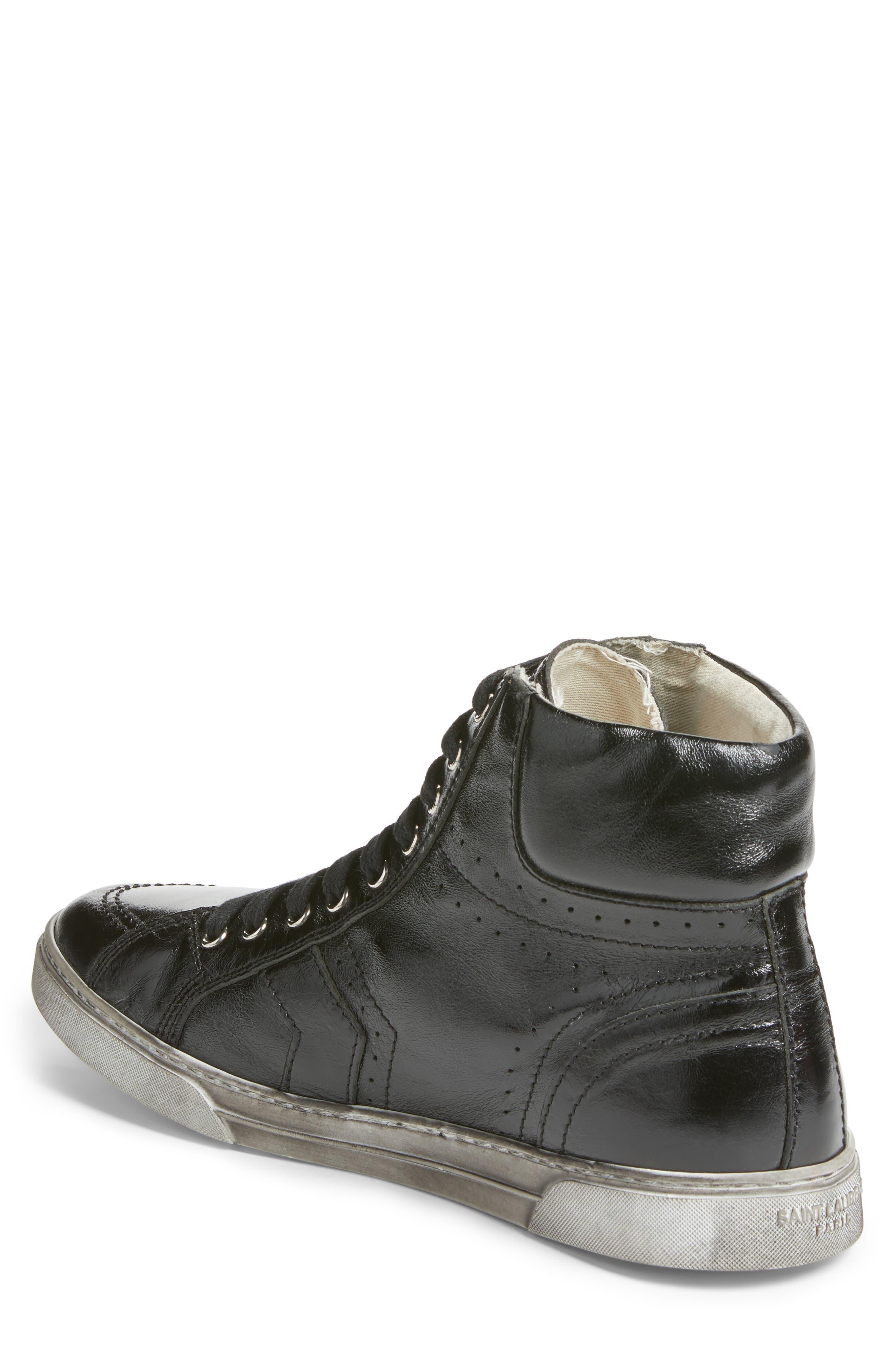 Distressed Sneaker,                             Alternate thumbnail 2, color,                             001