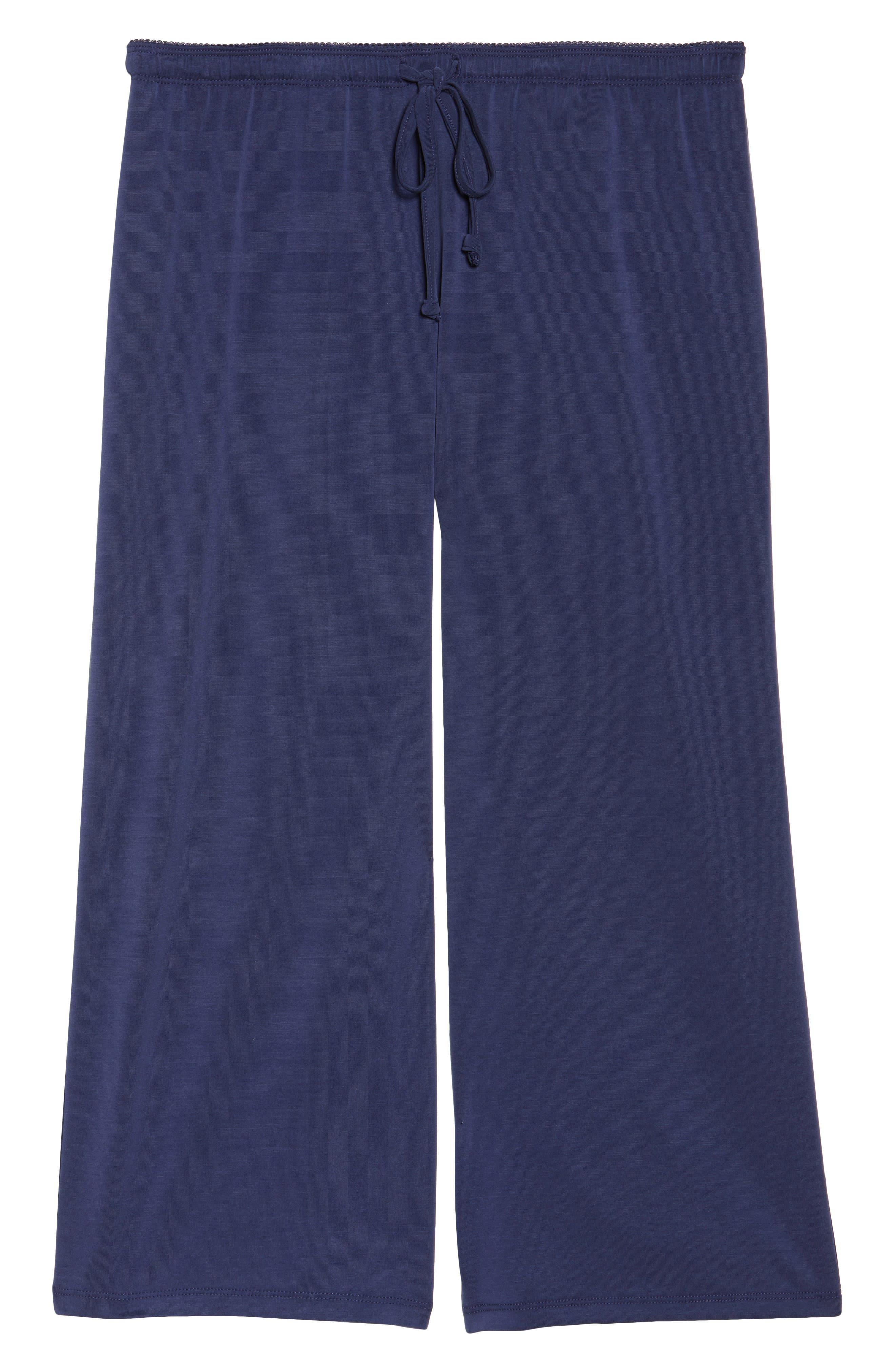 Crop Lounge Pants,                             Alternate thumbnail 6, color,                             410