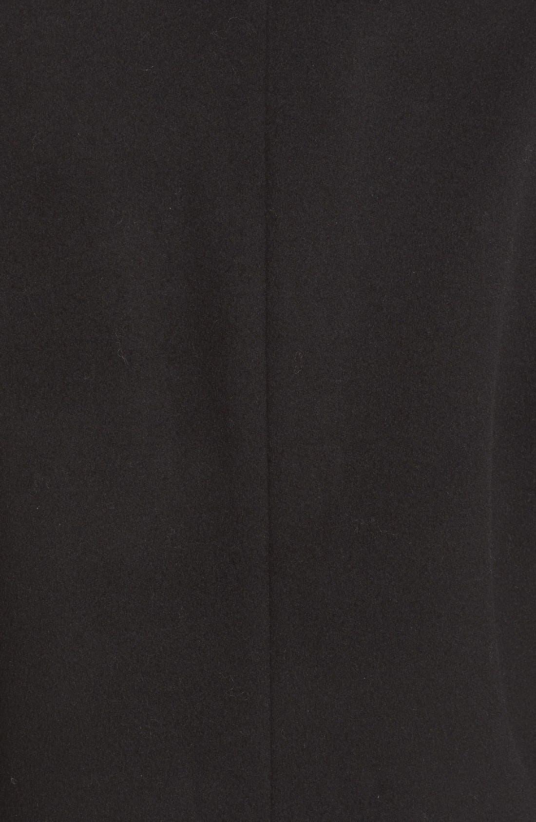 JOSEPH,                             Mart Wool & Cashmere Coat,                             Alternate thumbnail 5, color,                             001