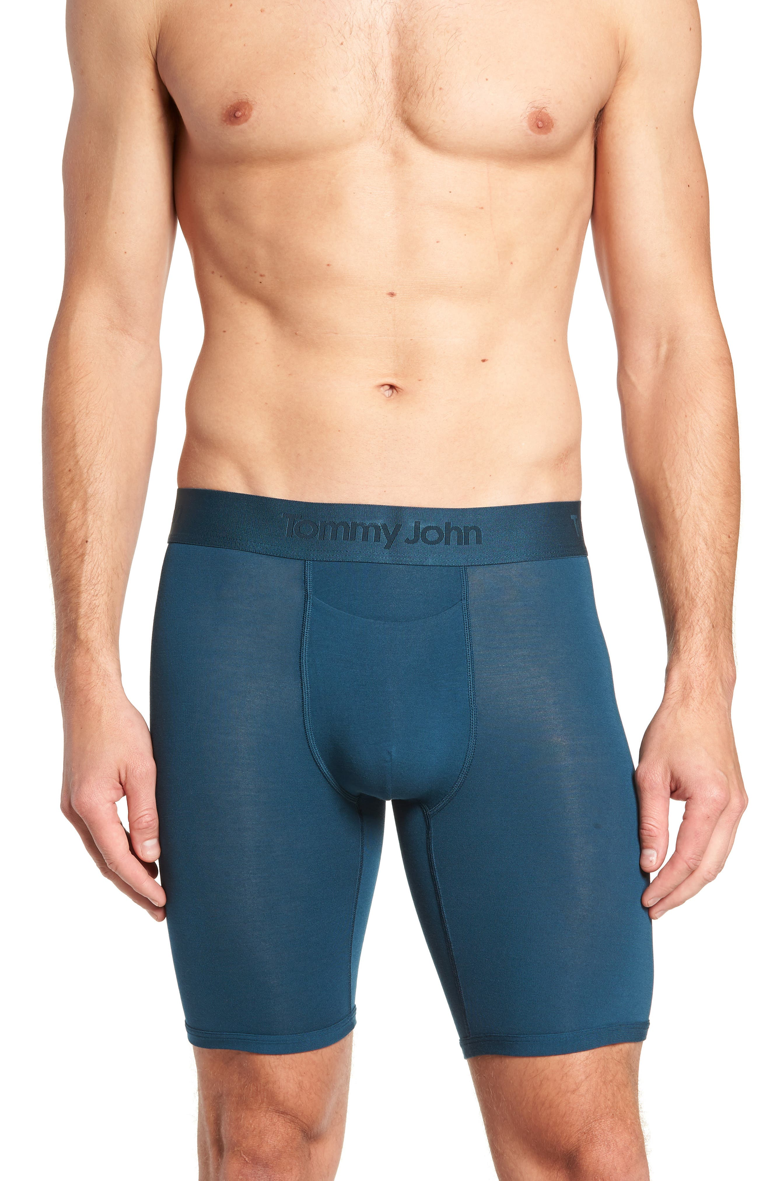 Second Skin Boxer Briefs,                         Main,                         color, REFLECTING POND