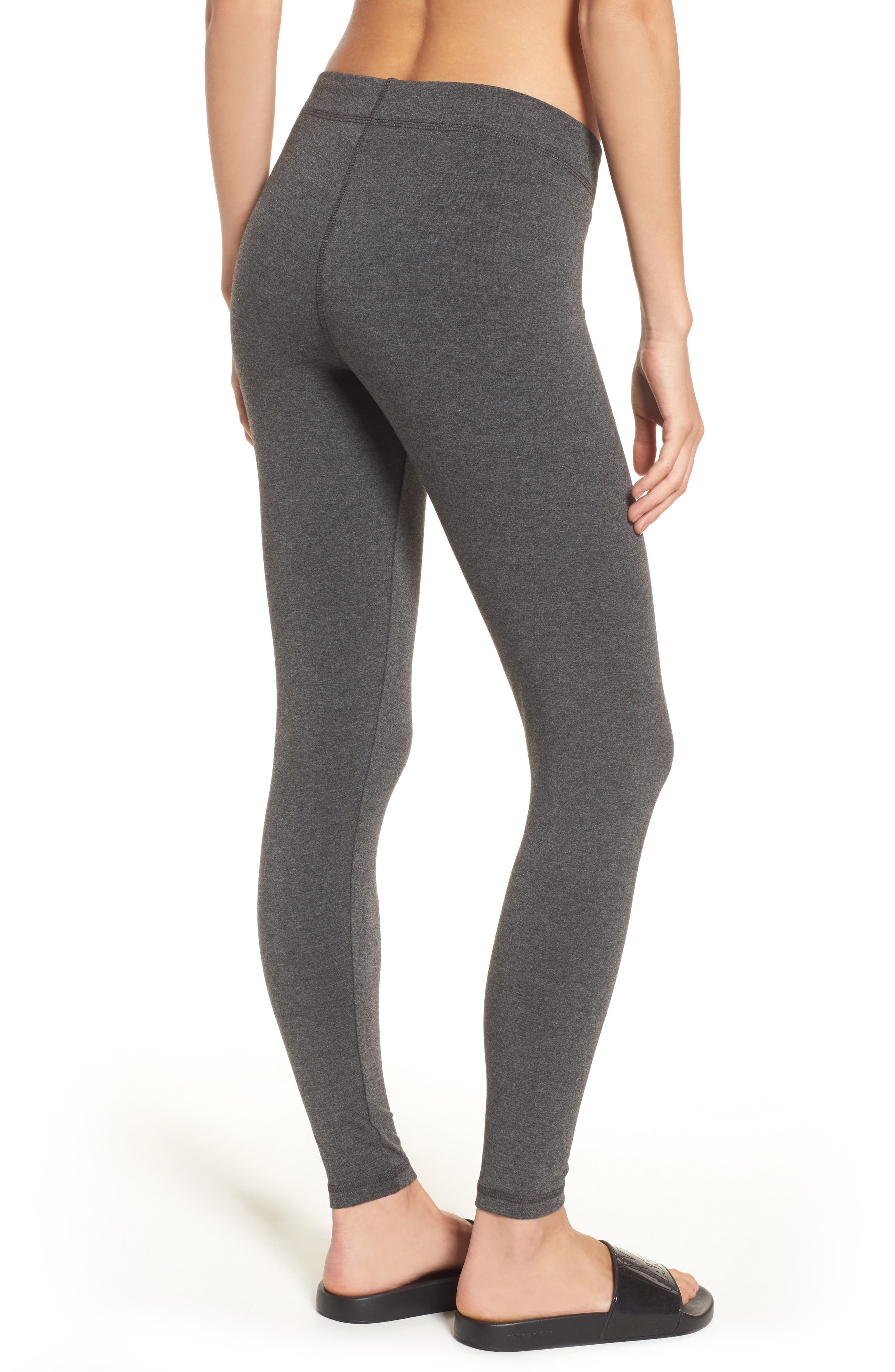 Logo Ankle Leggings,                             Alternate thumbnail 2, color,                             020