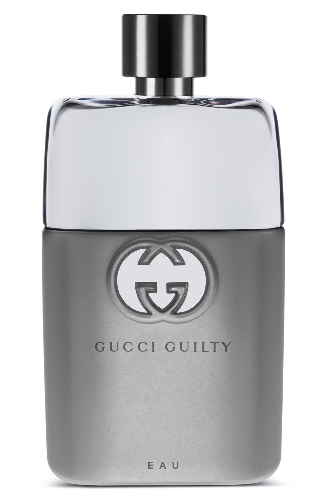 'Guilty Eau Pour Homme' Eau de Toilette,                             Main thumbnail 1, color,                             NO COLOR