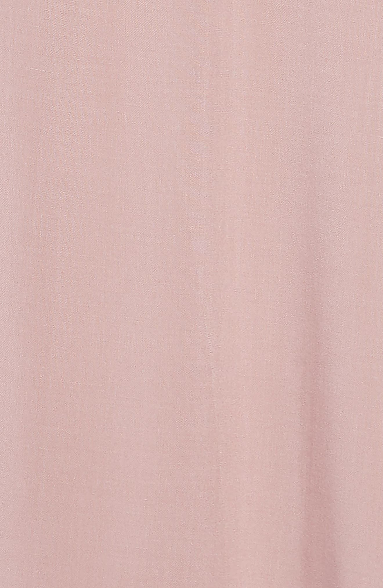 Serenade One-Shoulder Dress,                             Alternate thumbnail 3, color,                             DEAUVILLE MAUVE