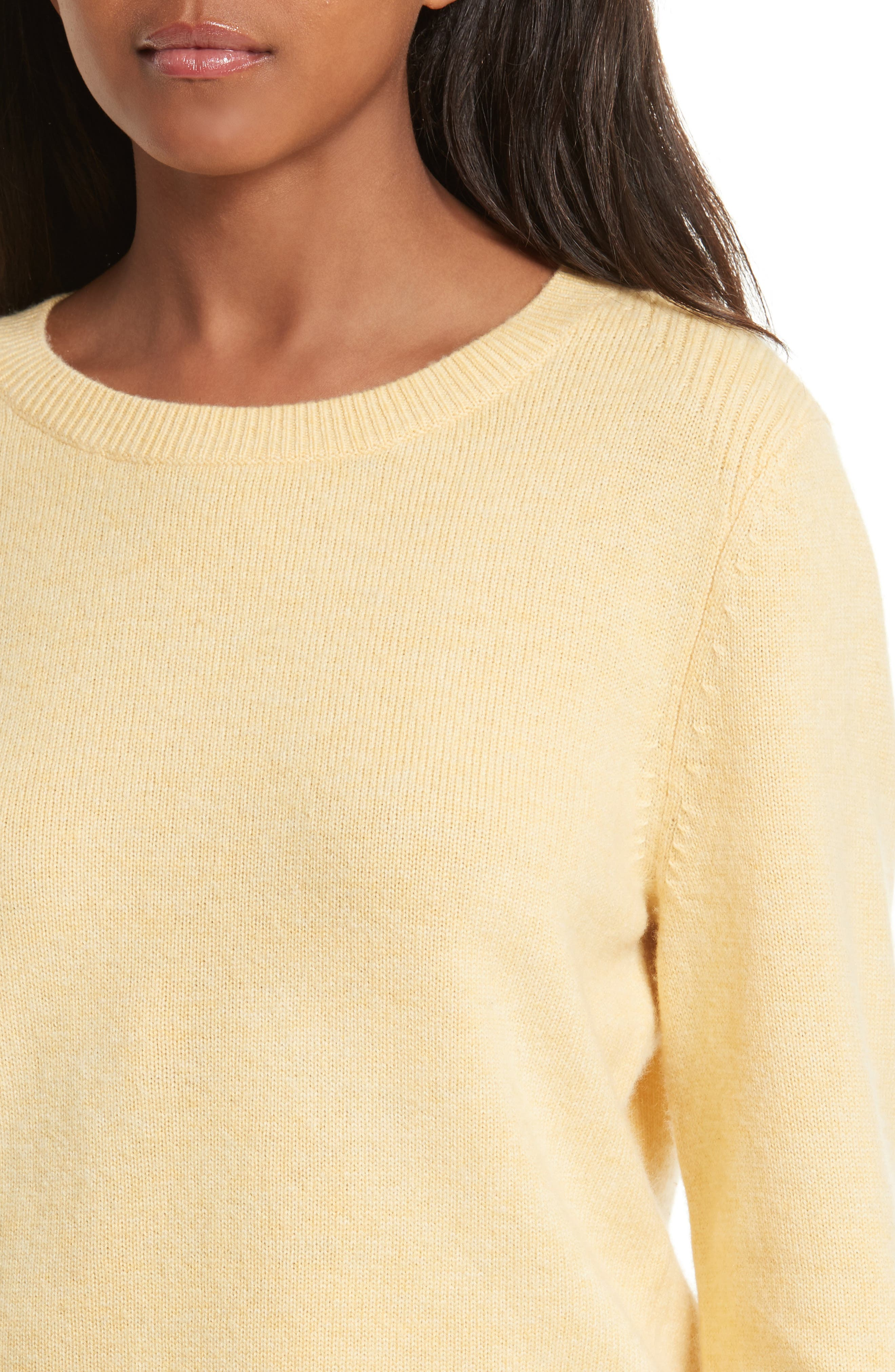 Wool & Cashmere Sweater,                             Alternate thumbnail 4, color,