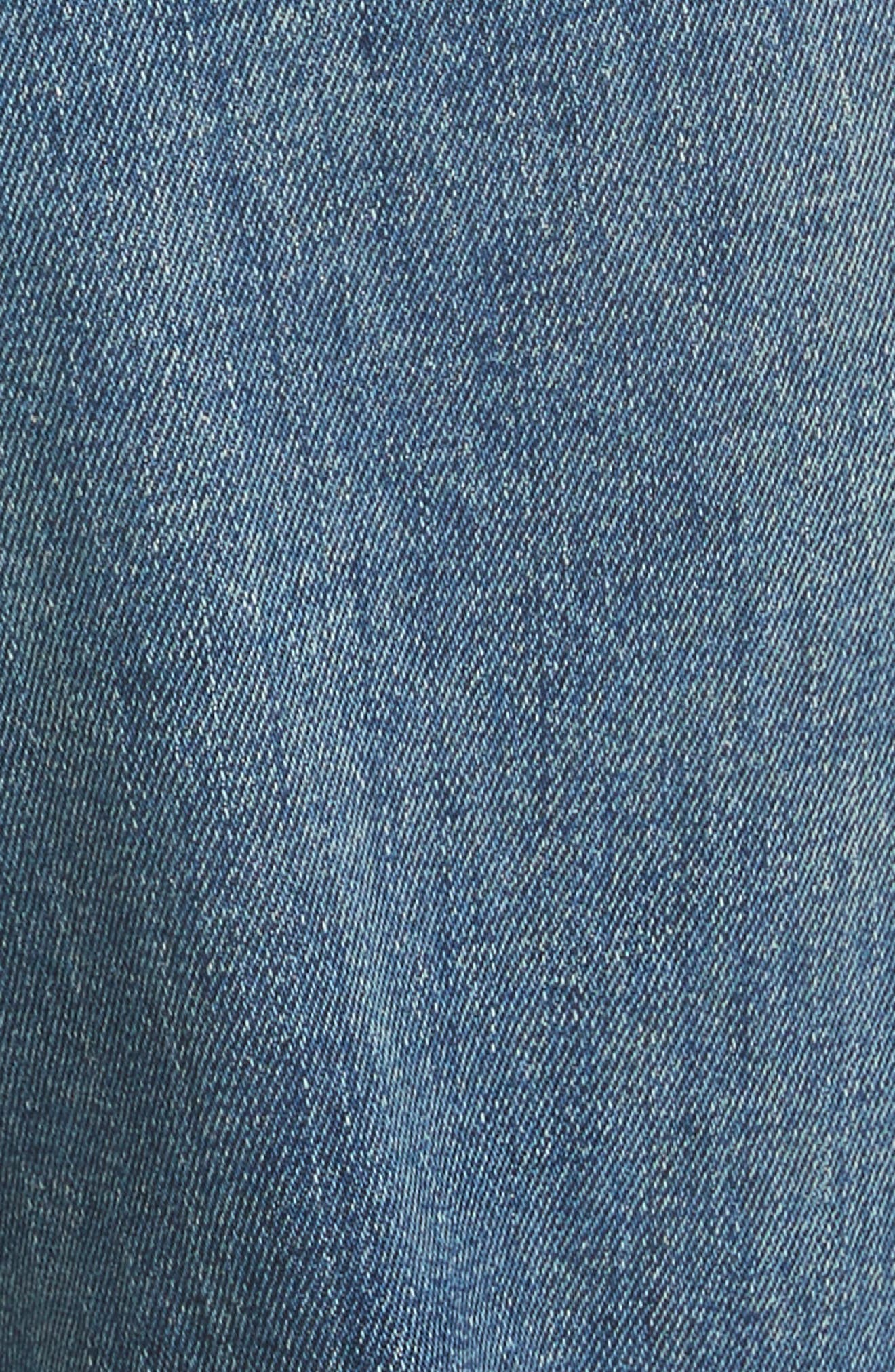The Fellow Rhinestone Jeans,                             Alternate thumbnail 5, color,