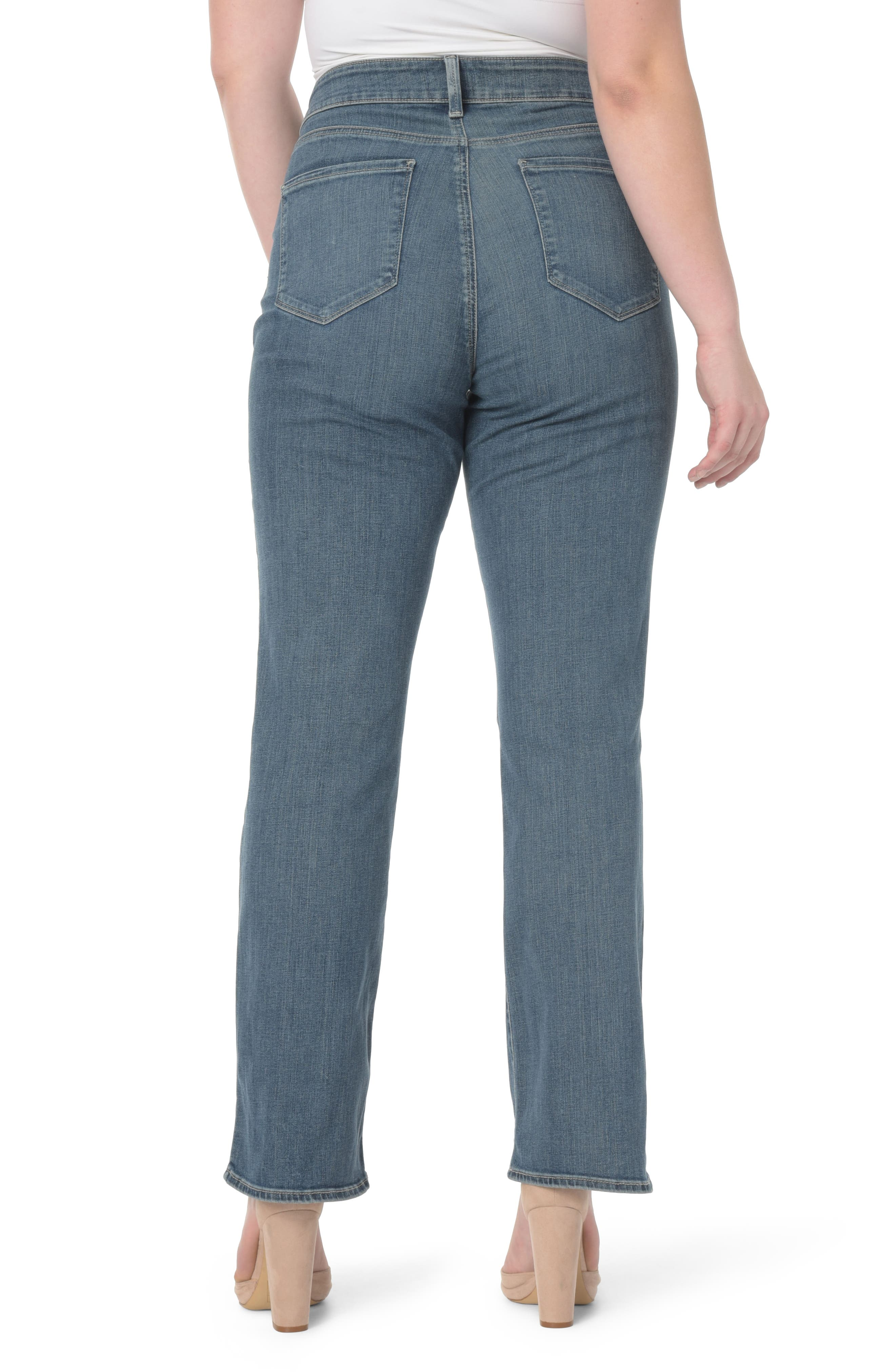 NYDJ,                             Barbara Stretch Bootcut Jeans,                             Alternate thumbnail 2, color,                             421