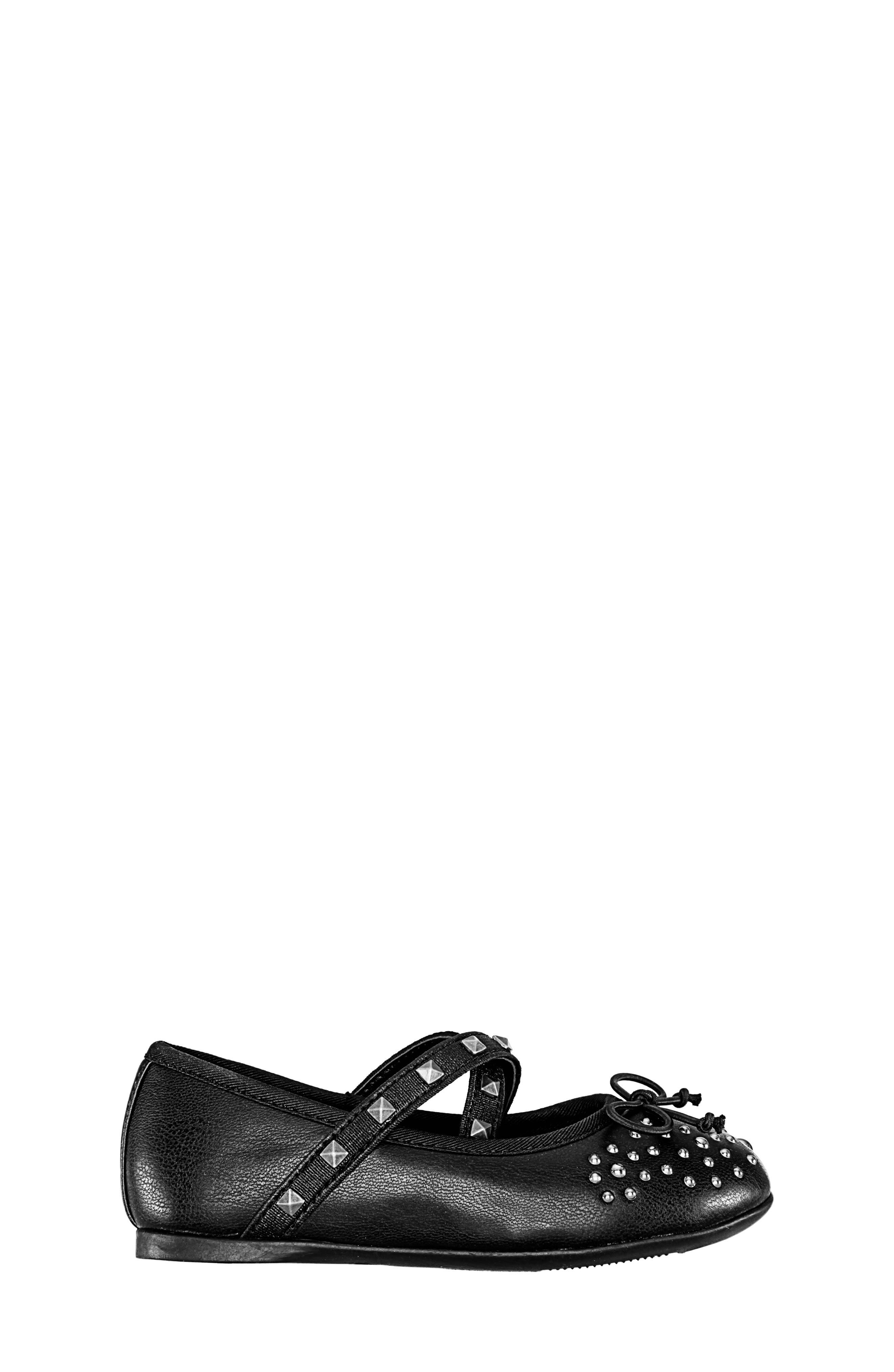 Averi Studded Ballet Flat,                             Alternate thumbnail 3, color,                             009
