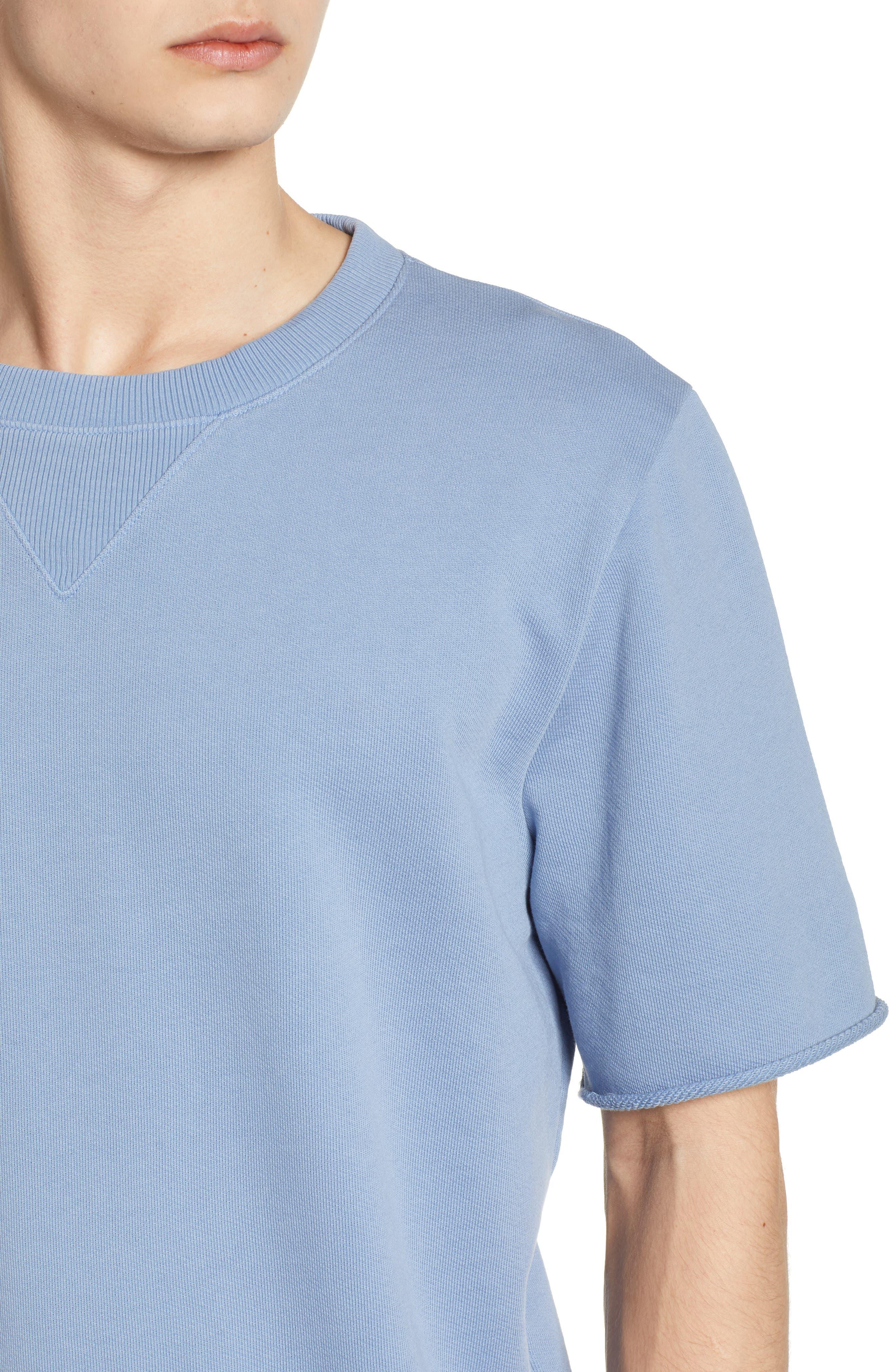 Cotton Terry Sweatshirt,                             Alternate thumbnail 7, color,