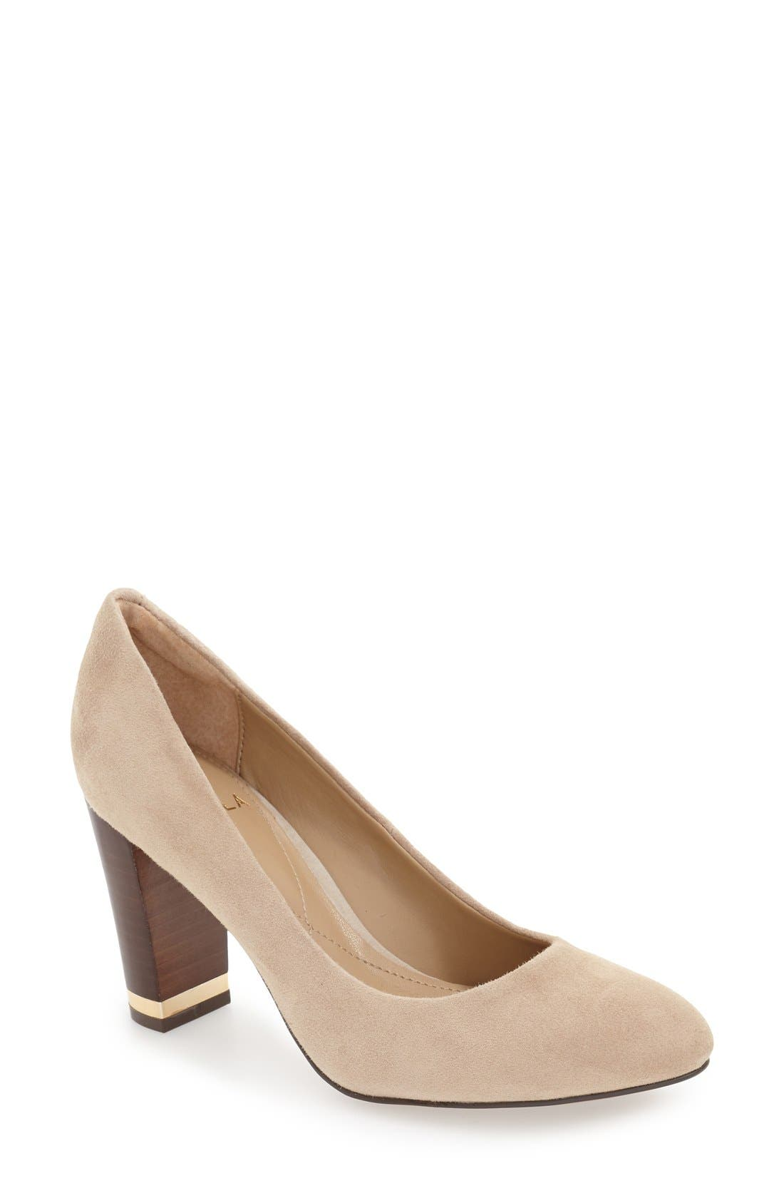 'Eleni II' Block Heel Pump,                             Main thumbnail 3, color,