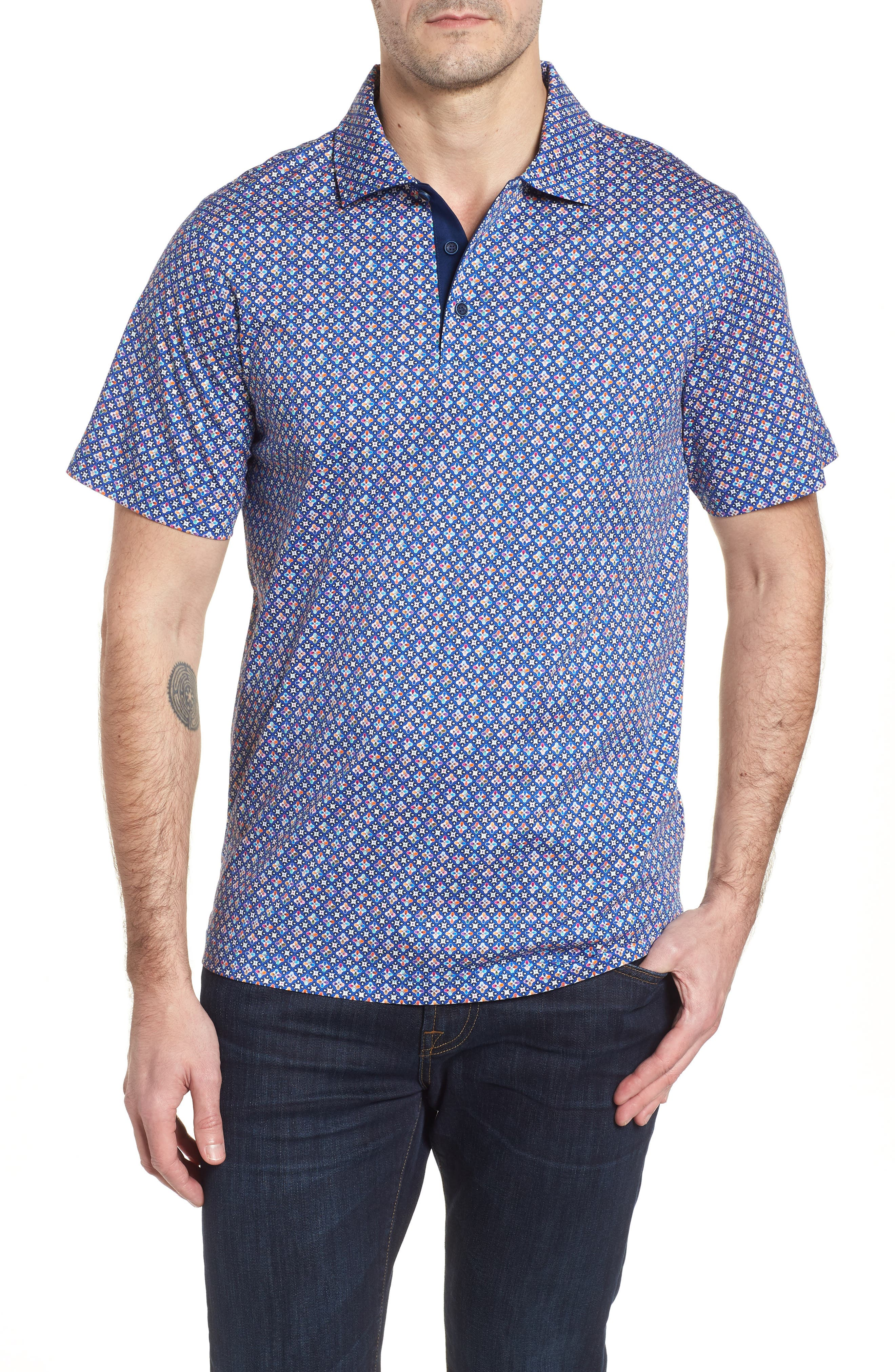 Regular Fit Knit Polo,                         Main,                         color,