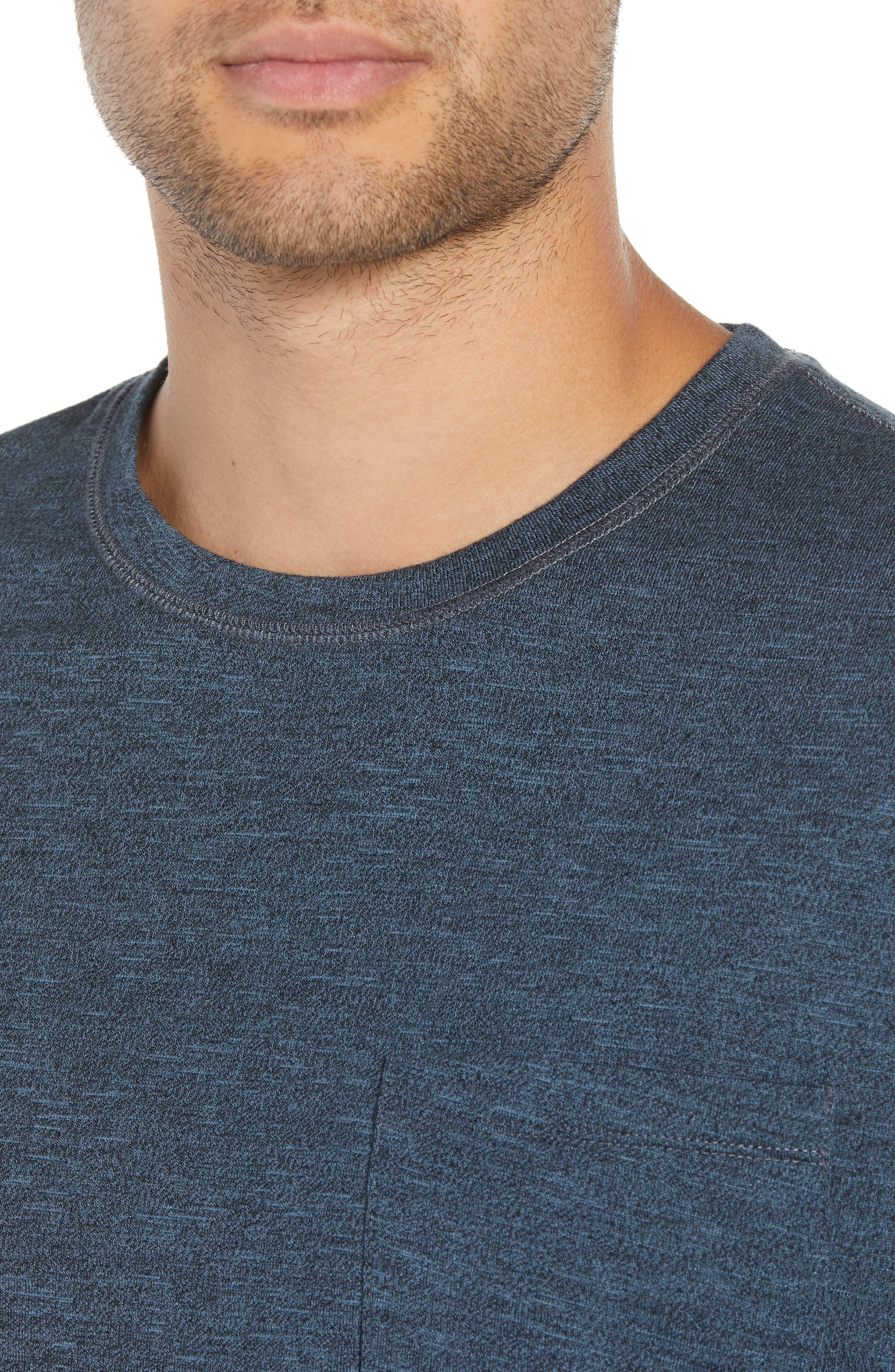 Classic Fit Pocket T-Shirt,                             Alternate thumbnail 4, color,                             400