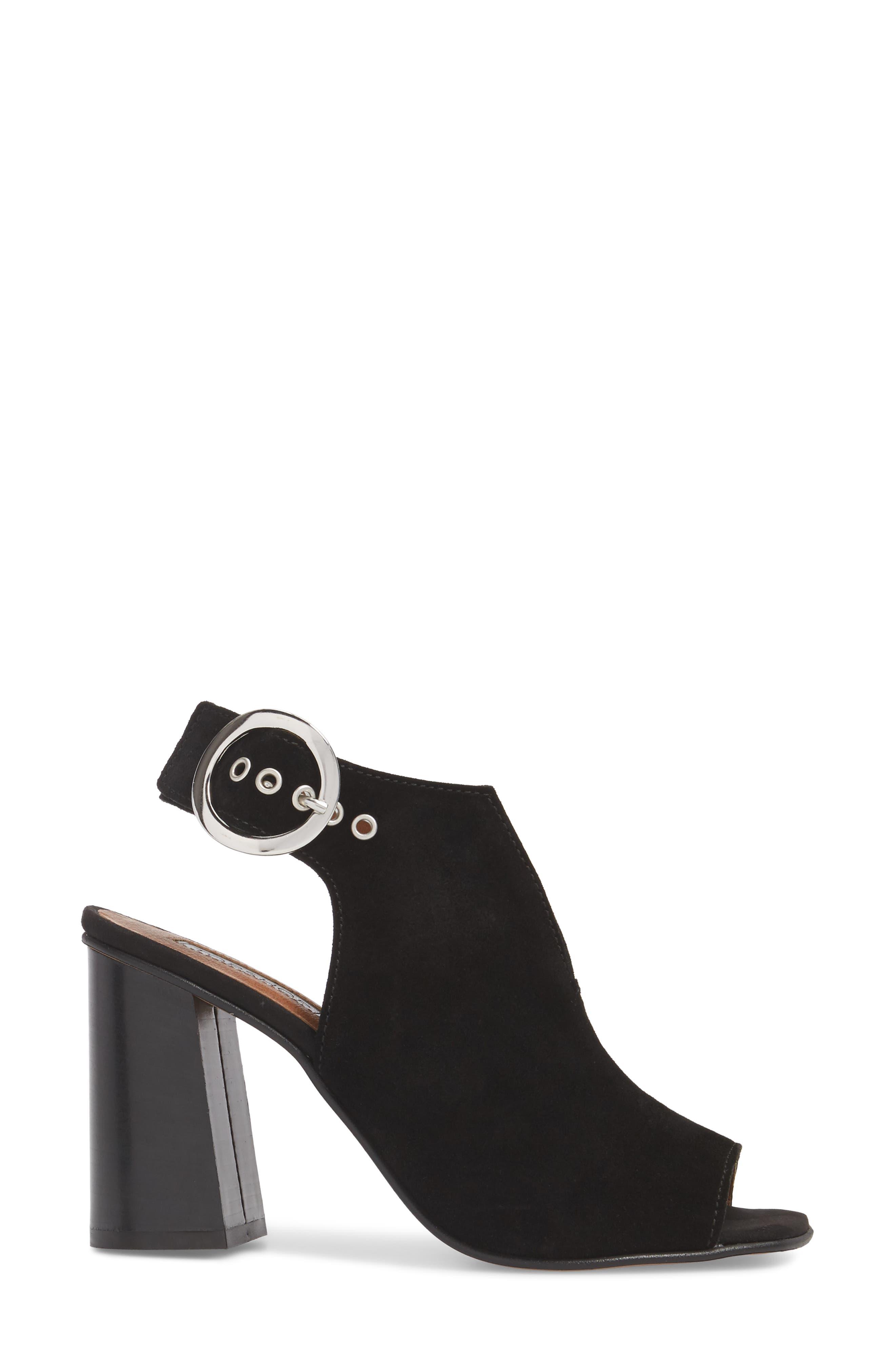 Nika Flared Heel Slingback Sandal,                             Alternate thumbnail 5, color,