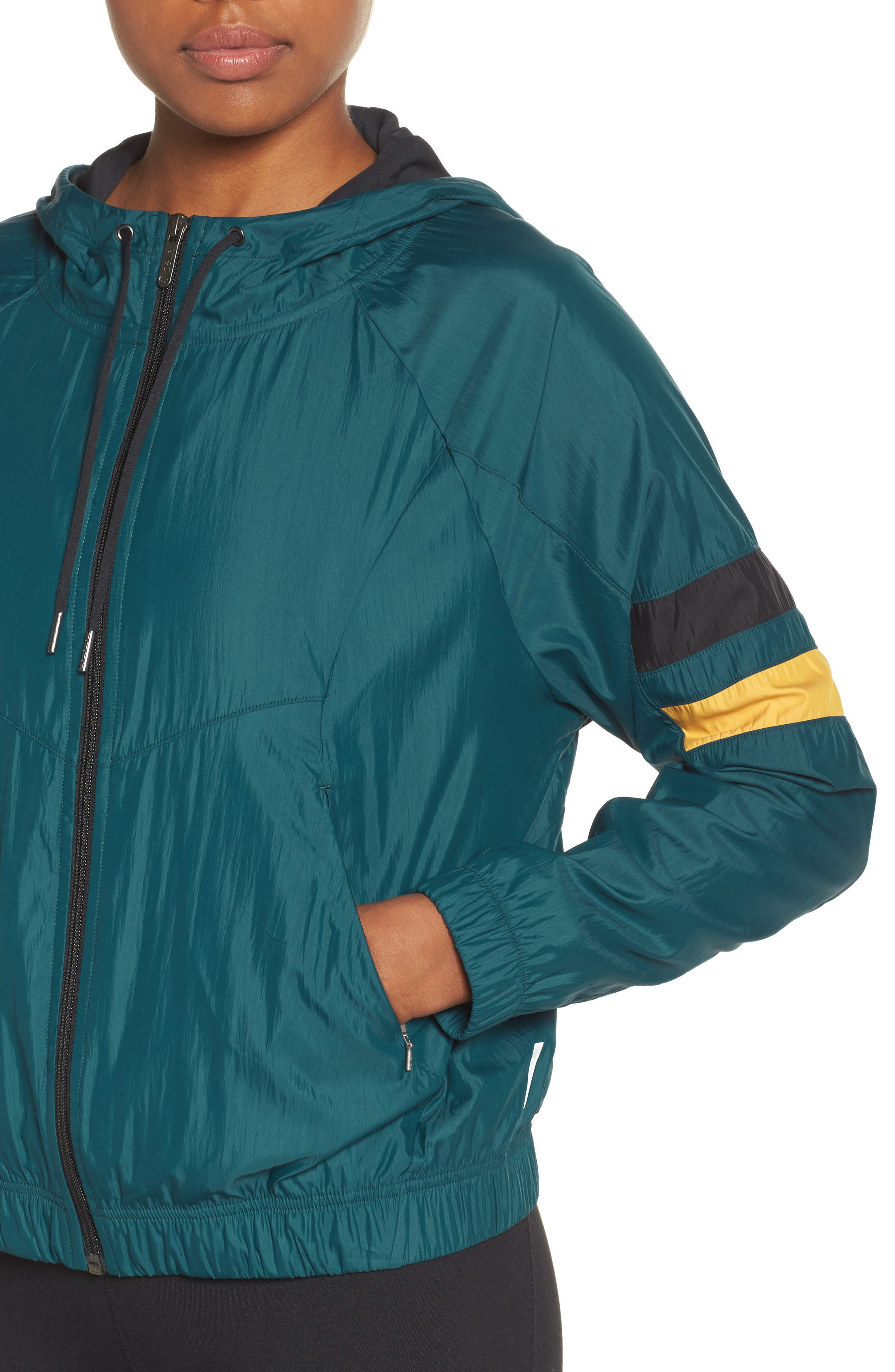 Style Game Colorblock Jacket,                             Alternate thumbnail 4, color,                             449