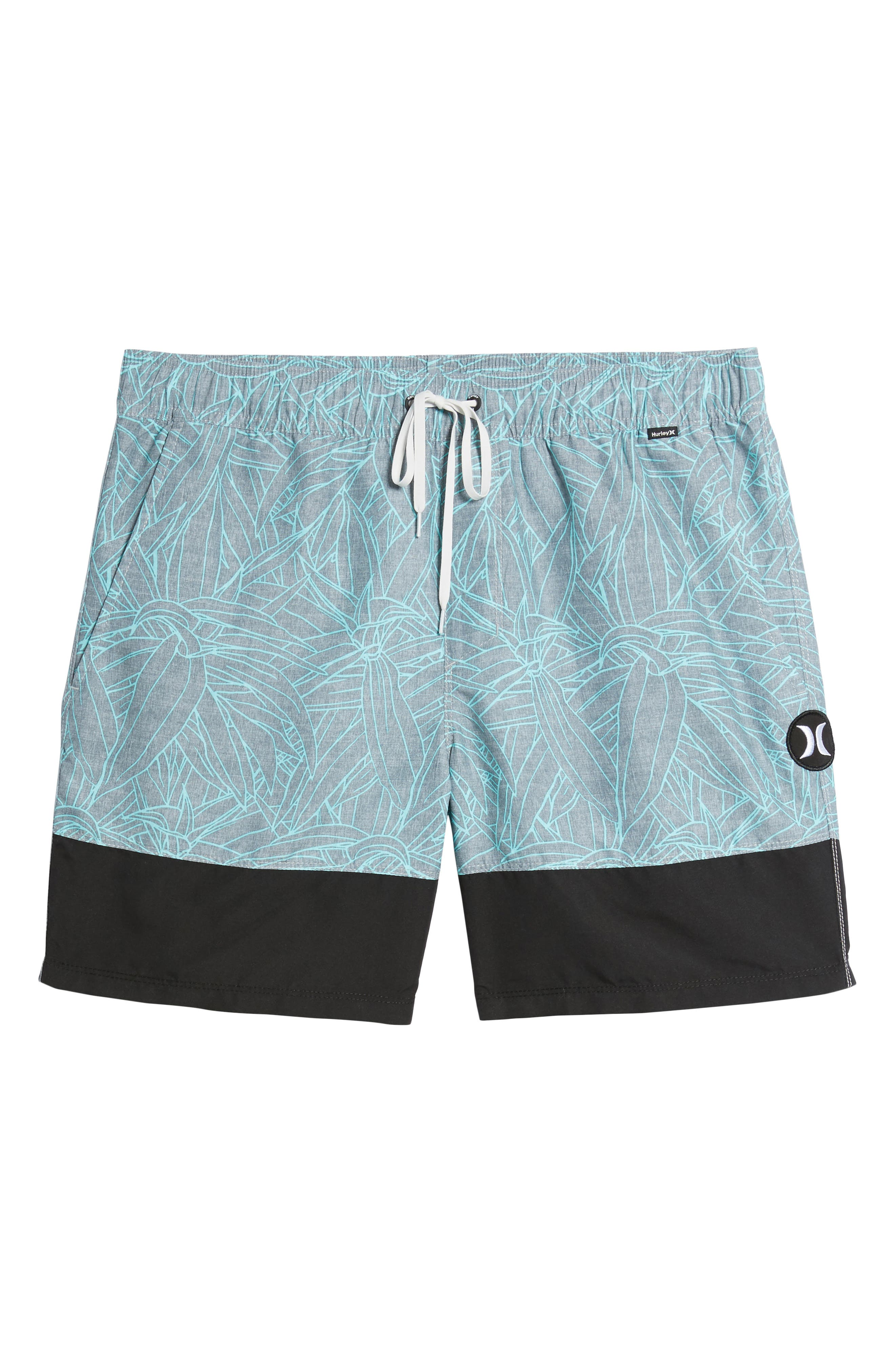 Pupkea Volley Board Shorts,                             Alternate thumbnail 6, color,                             065