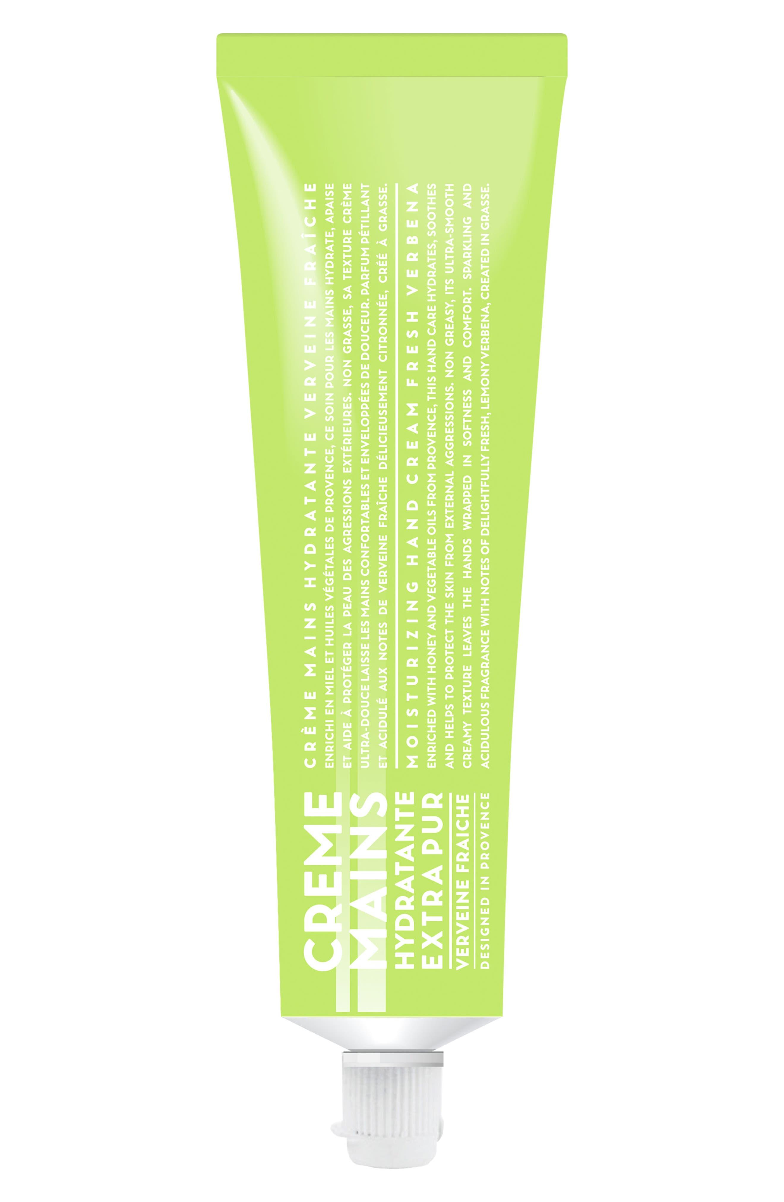 Fresh Verbena Moisturizing Hand Cream,                             Main thumbnail 1, color,                             NO COLOR