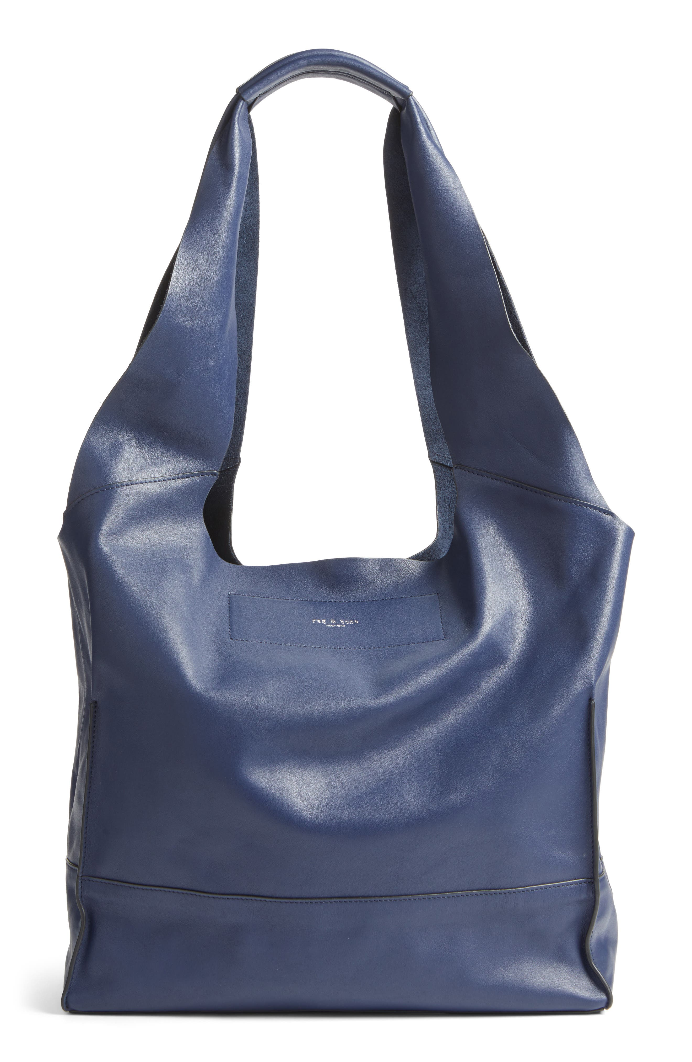 Walker Leather Tote,                             Main thumbnail 1, color,