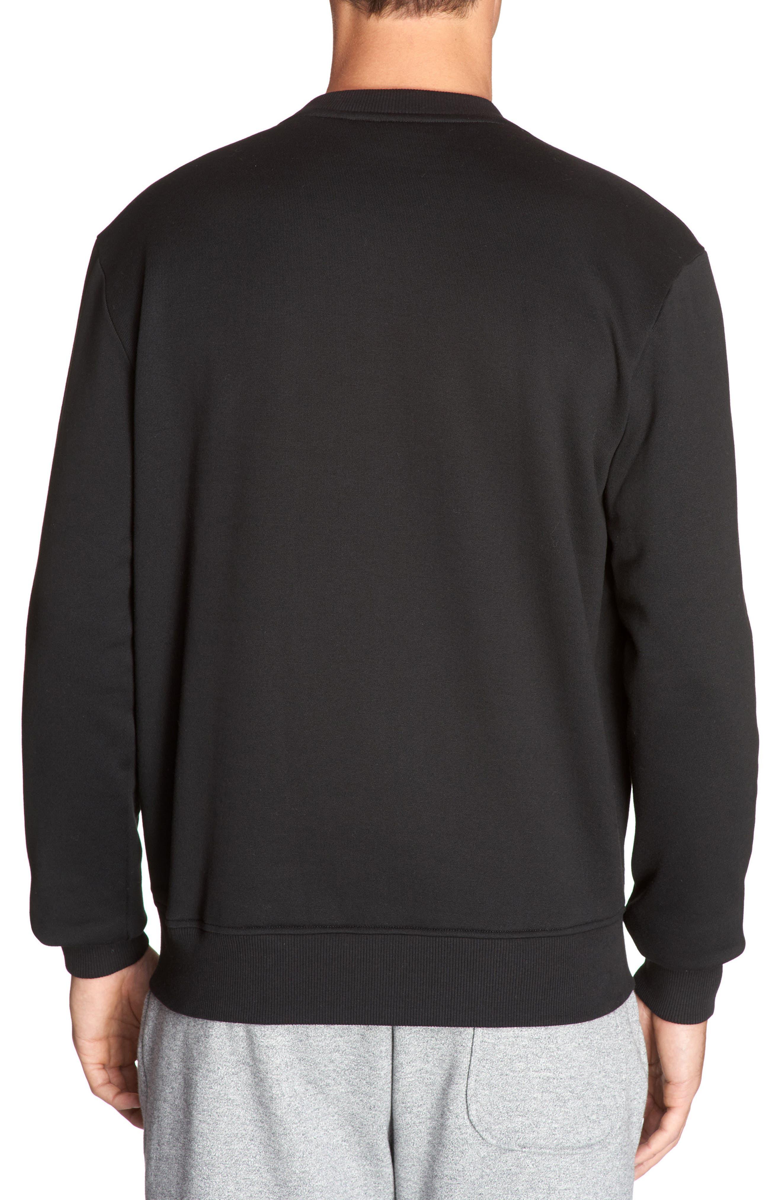 Molleton Worldwide Sweatshirt,                             Alternate thumbnail 2, color,                             003