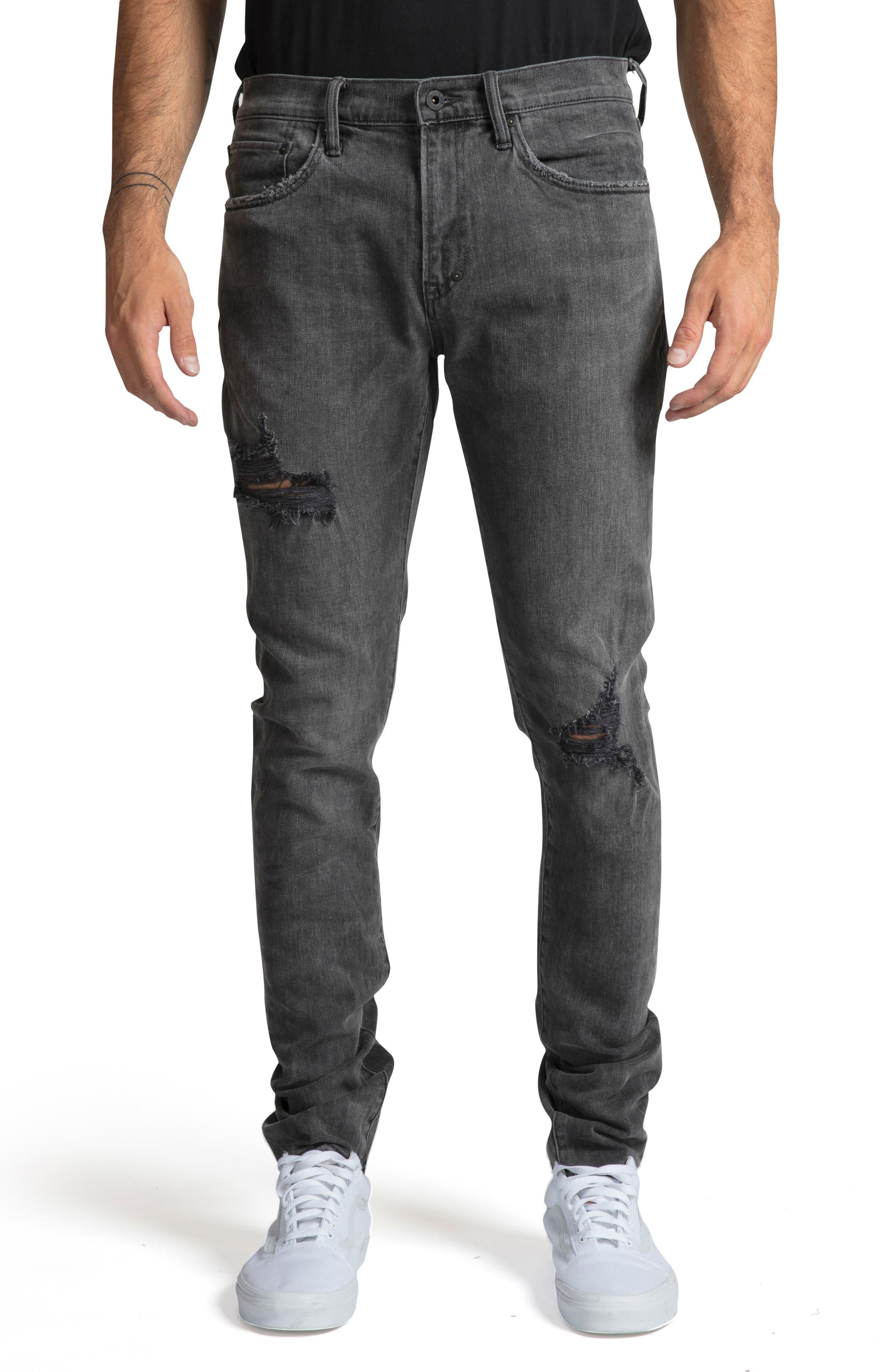 PRPS Men'S Windsor Stretch Washed Denim Jeans in Black
